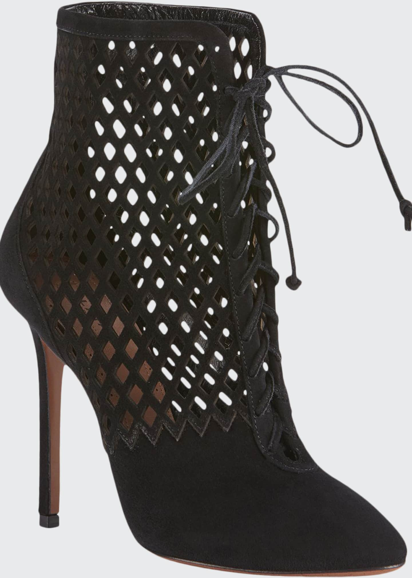 Image 1 of 4: Laser-Cut Chamois Booties