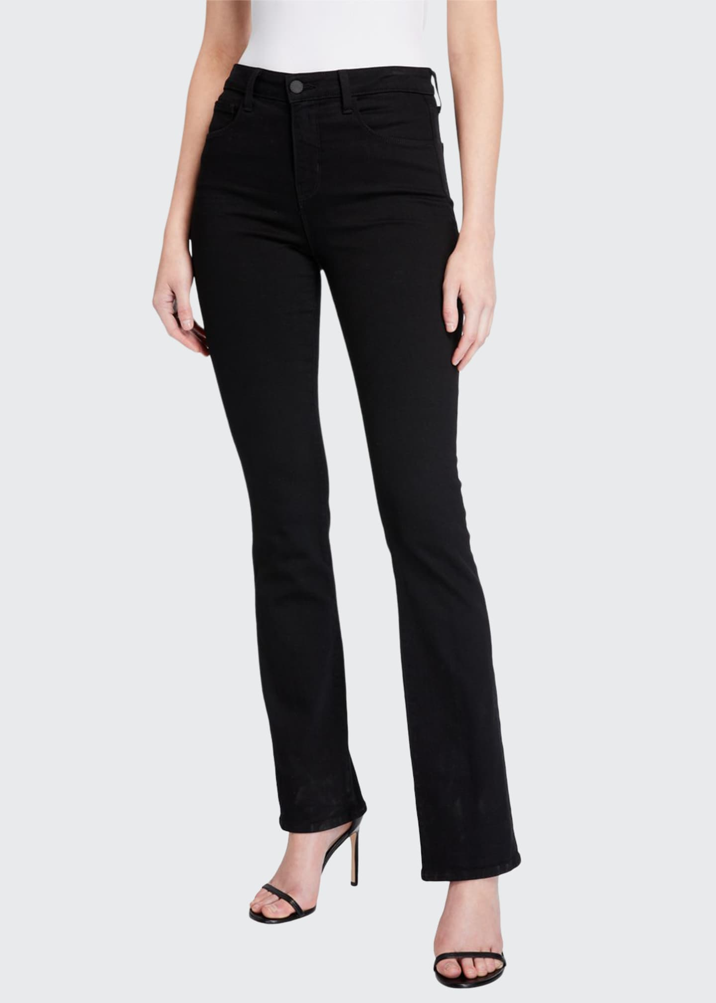 Image 1 of 5: Oriana High-Rise Straight Jeans