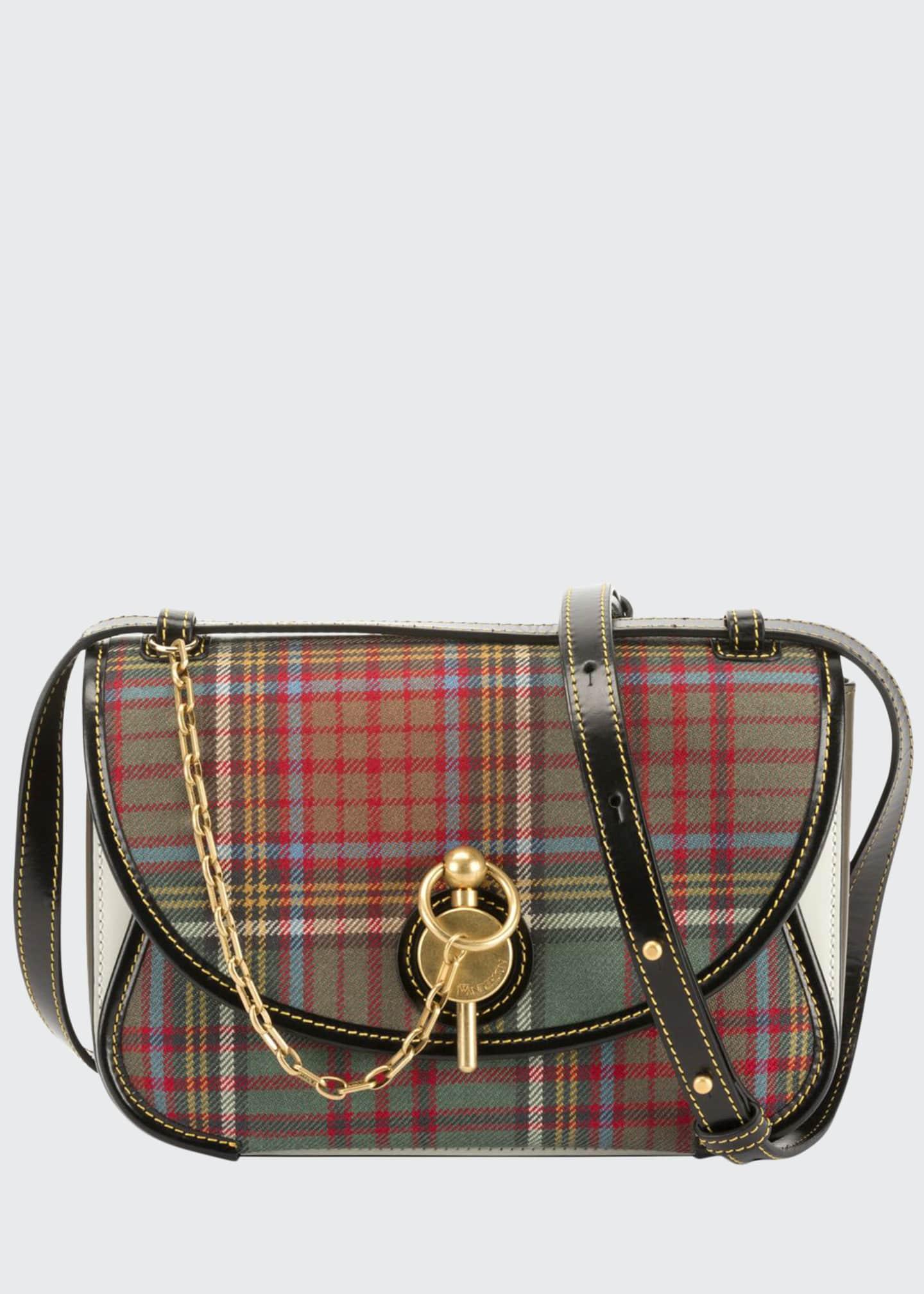 JW Anderson Tartan Keys Shoulder Bag