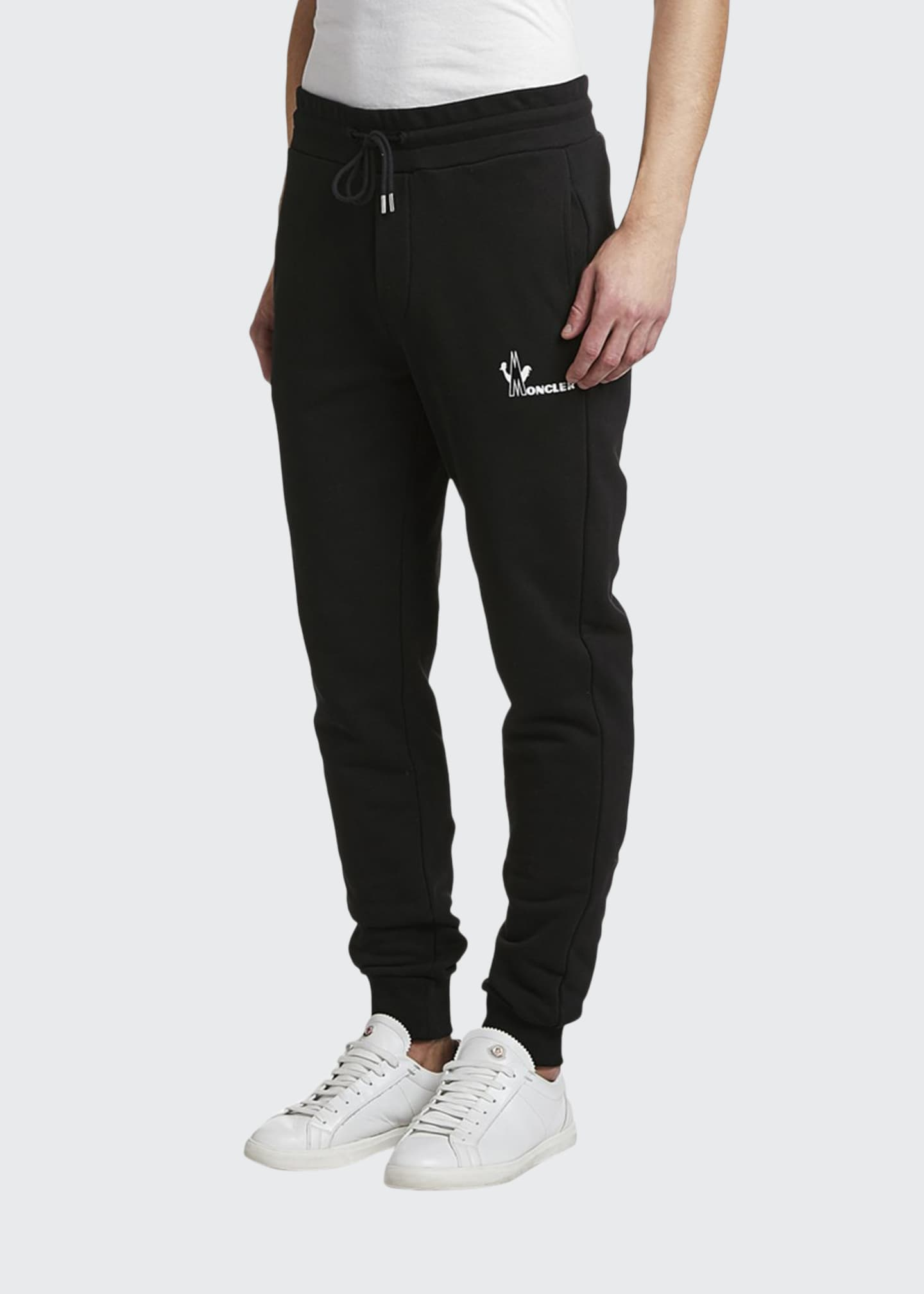 Moncler Men's Logo Drawstring Sweatpants