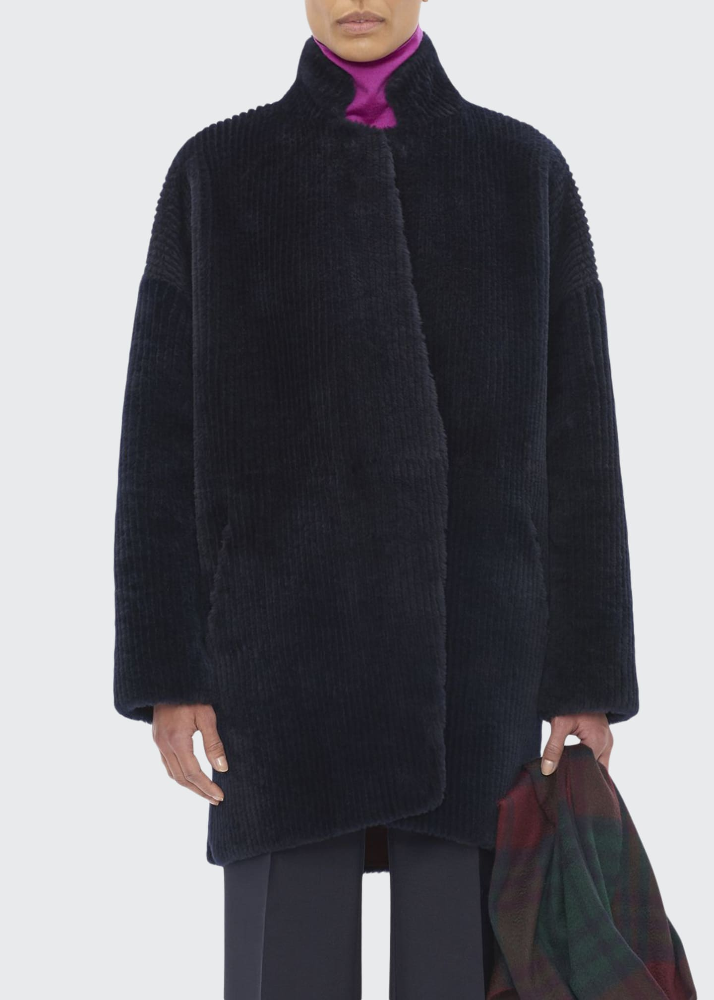 Boon The Shop Reversible Corduroy Shearling Coat