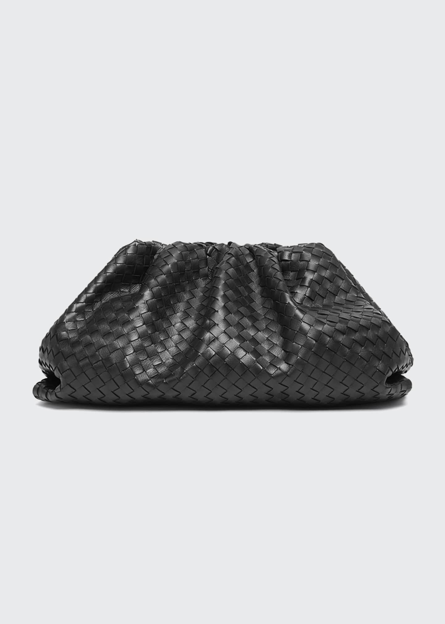 Image 1 of 5: The Pouch Intrecciato Clutch Bag
