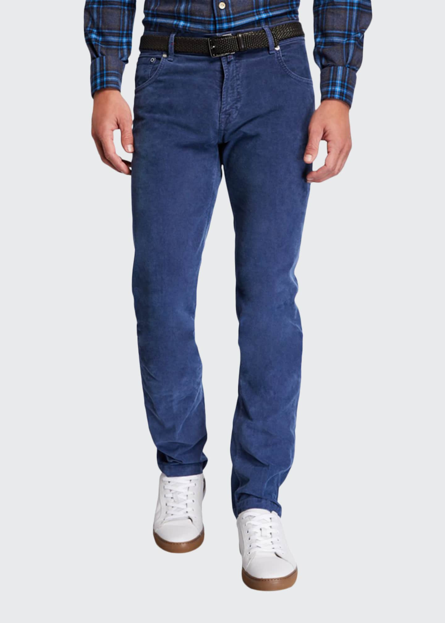 Men's Straight-Leg Corduroy 5-Pocket Pants
