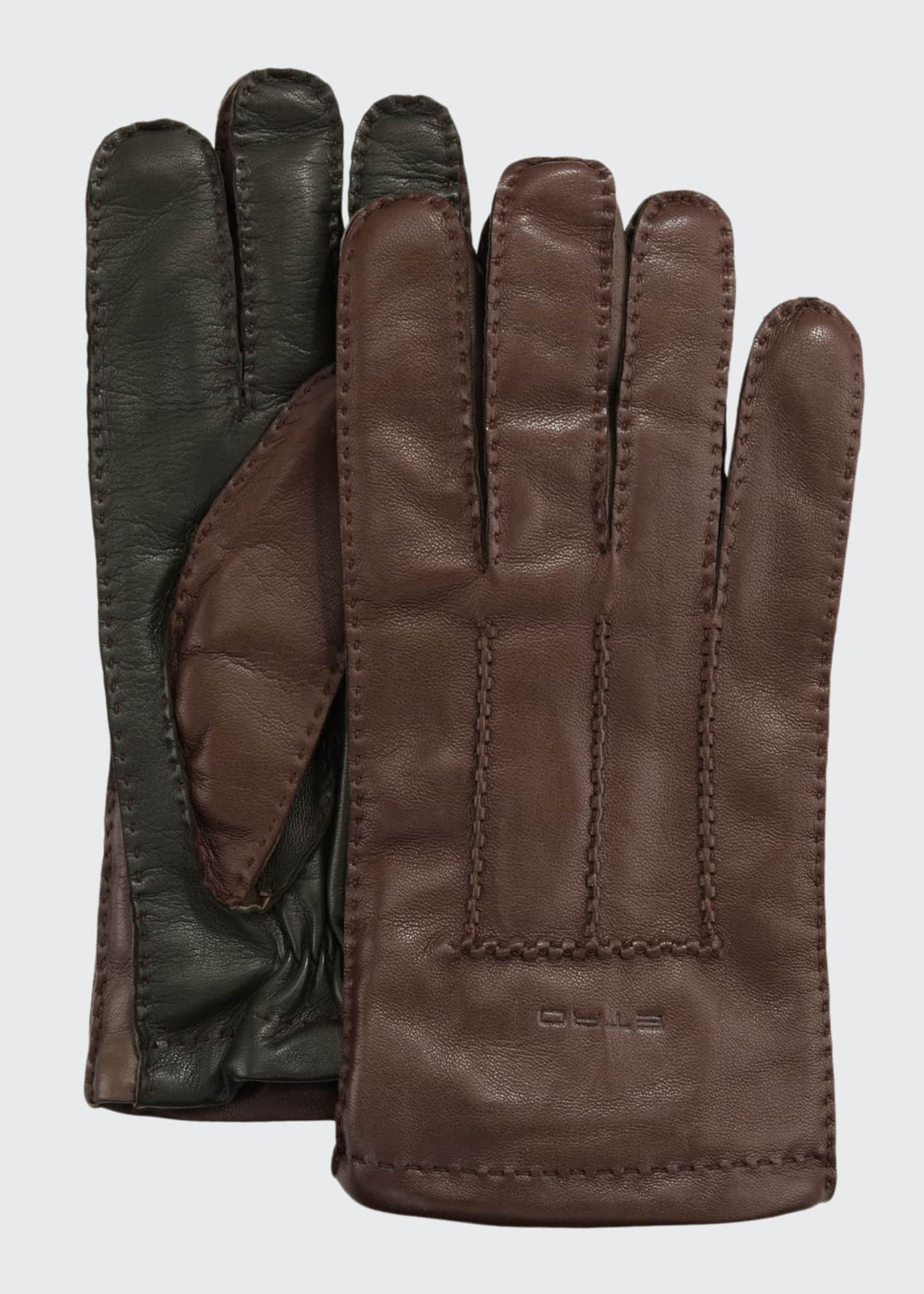 Etro Men's Lamb Leather Gloves