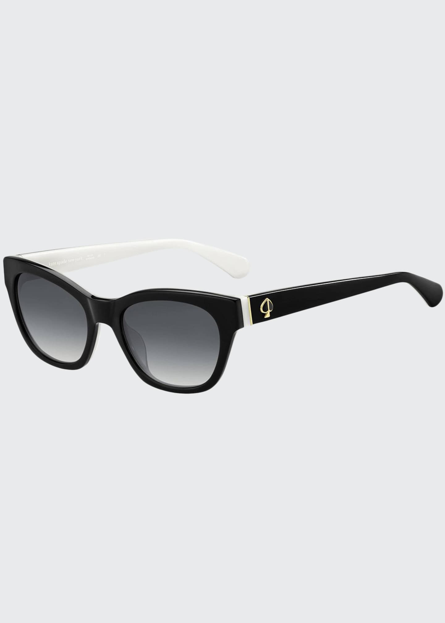 kate spade new york jerris rectangle acetate sunglasses