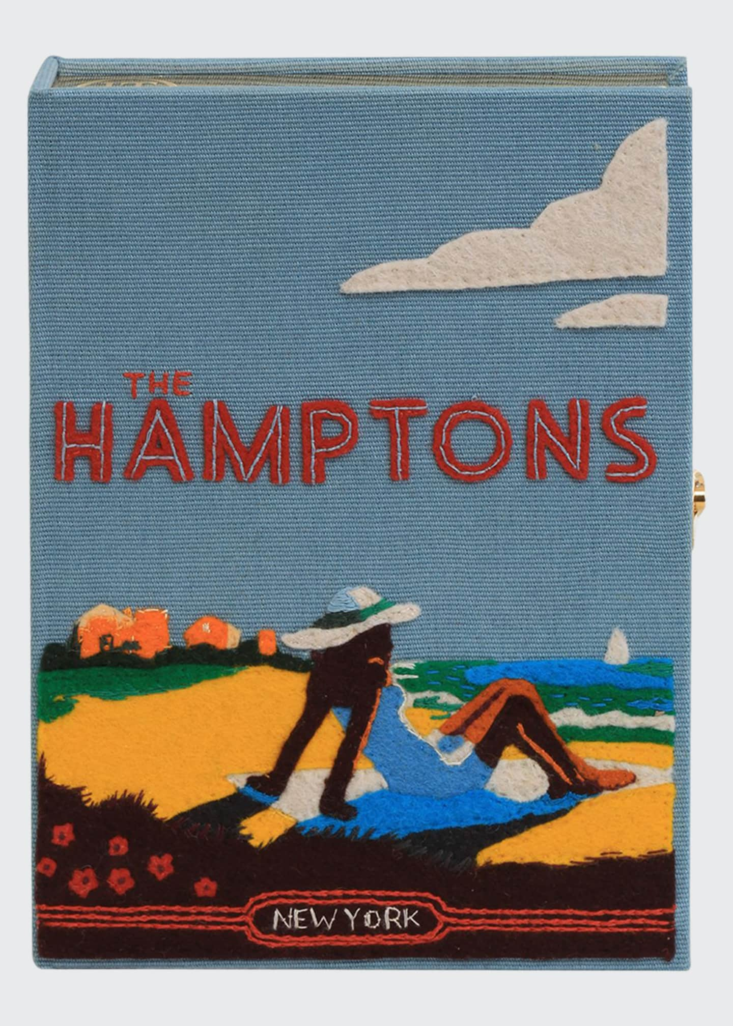 Olympia Le-Tan Hamptoms Strapped Book Clutch Bag