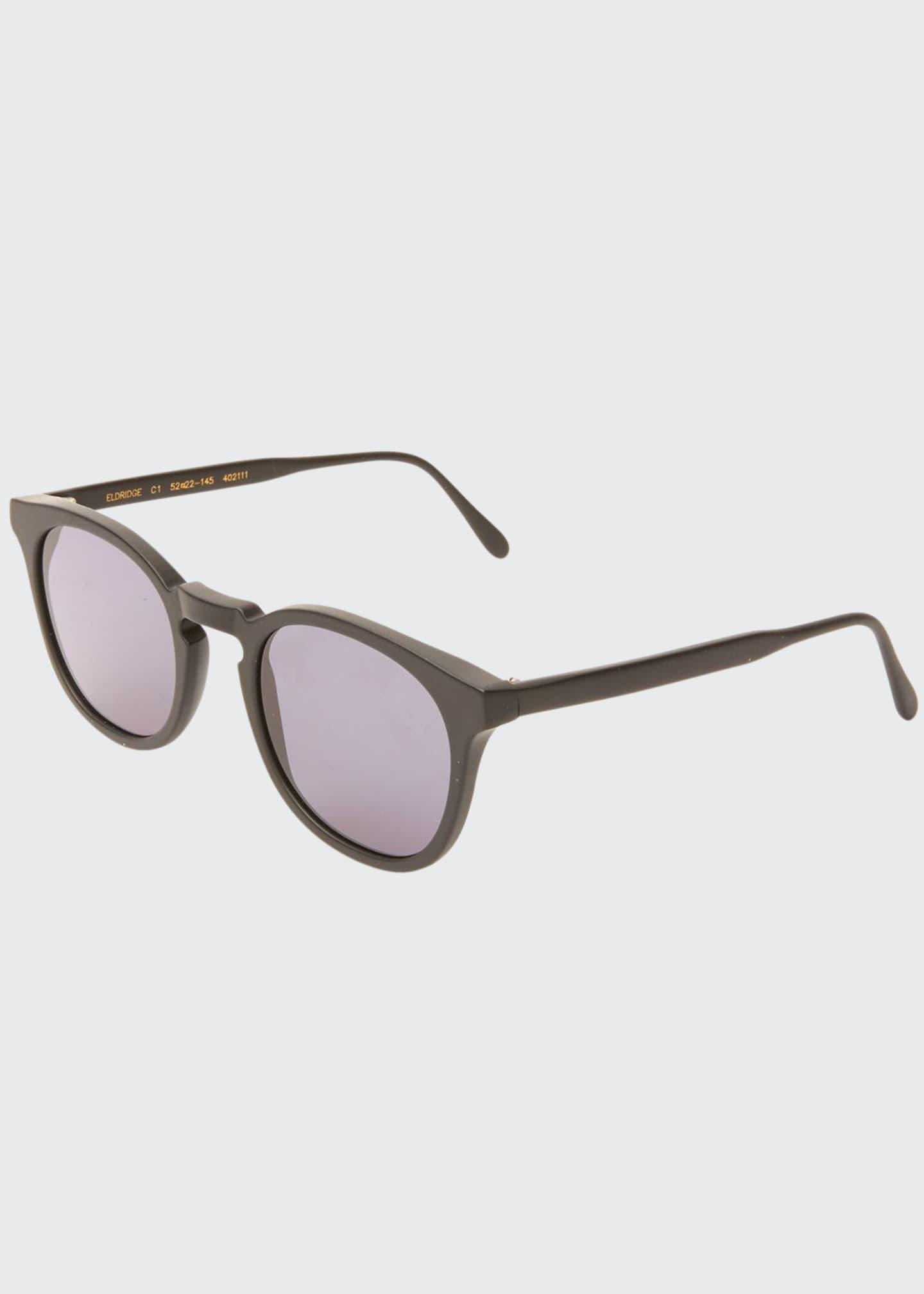 Illesteva Round Acetate Sunglasses