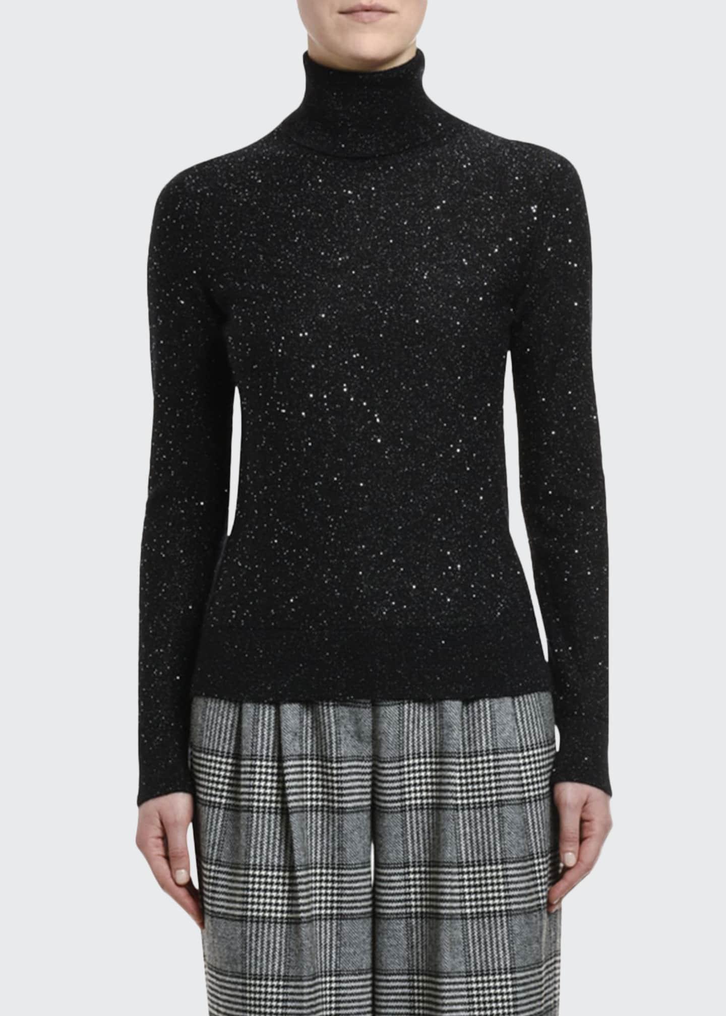 Dolce & Gabbana Mohair-Silk Turtleneck Sweater