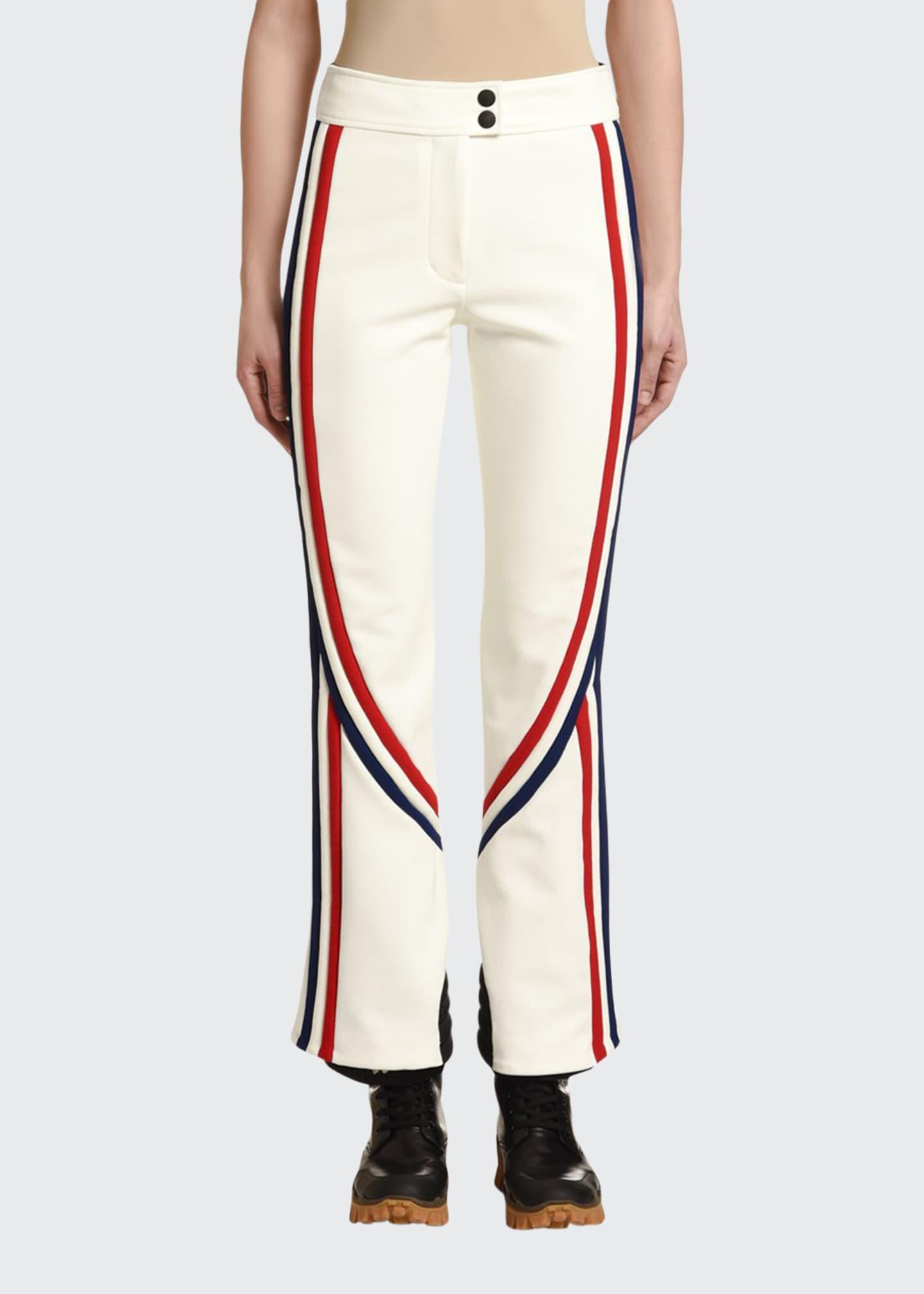 Moncler Tricolor-Trim Sport Trousers