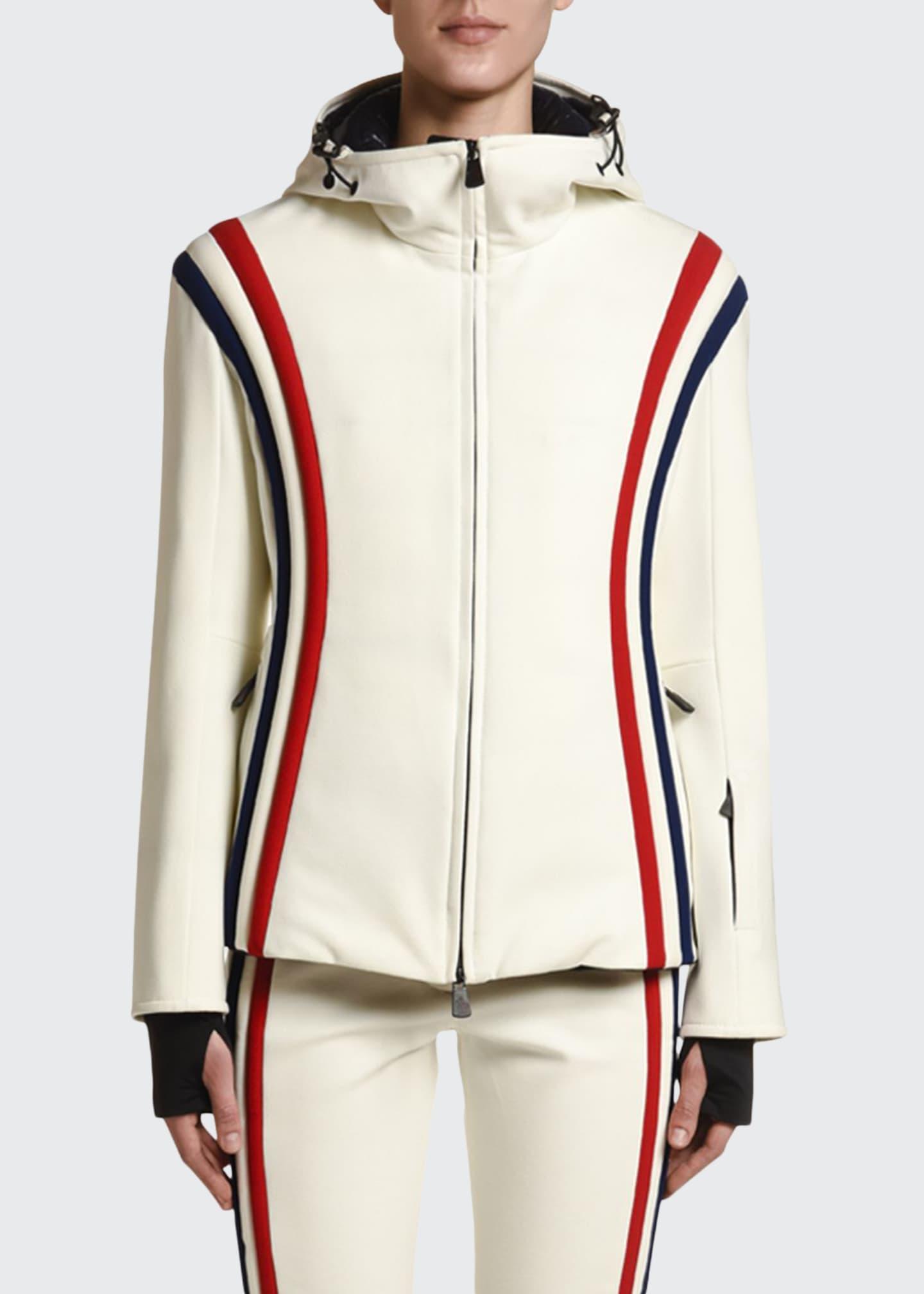 Moncler Brenva Tricolor-Trim Jacket