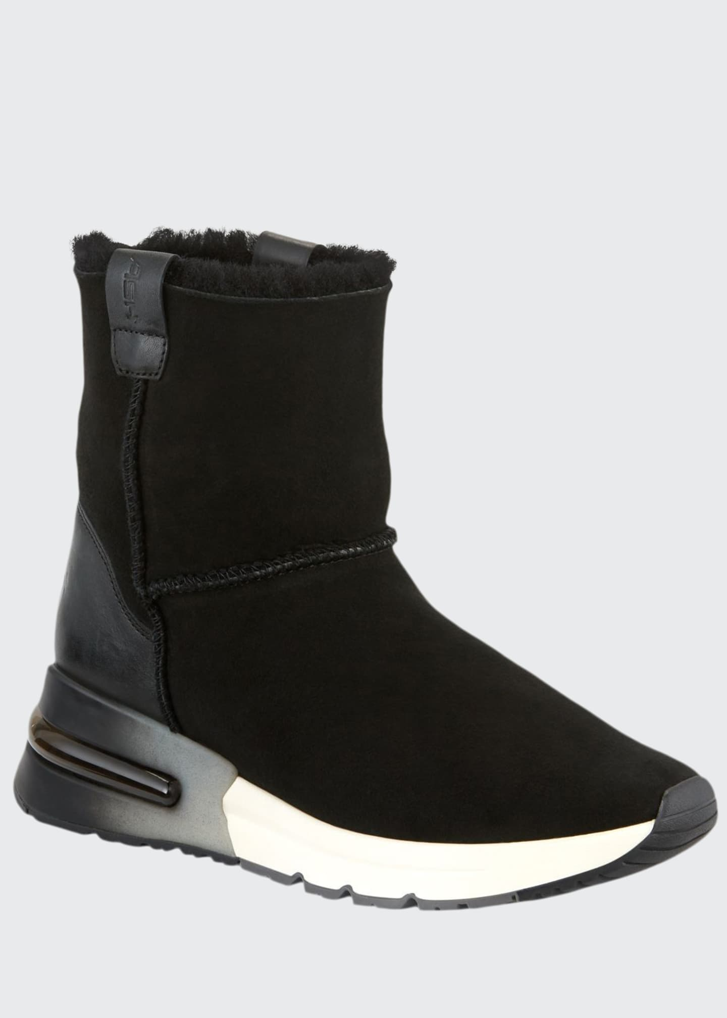 Ash Kyoto Suede Bootie with Shearling