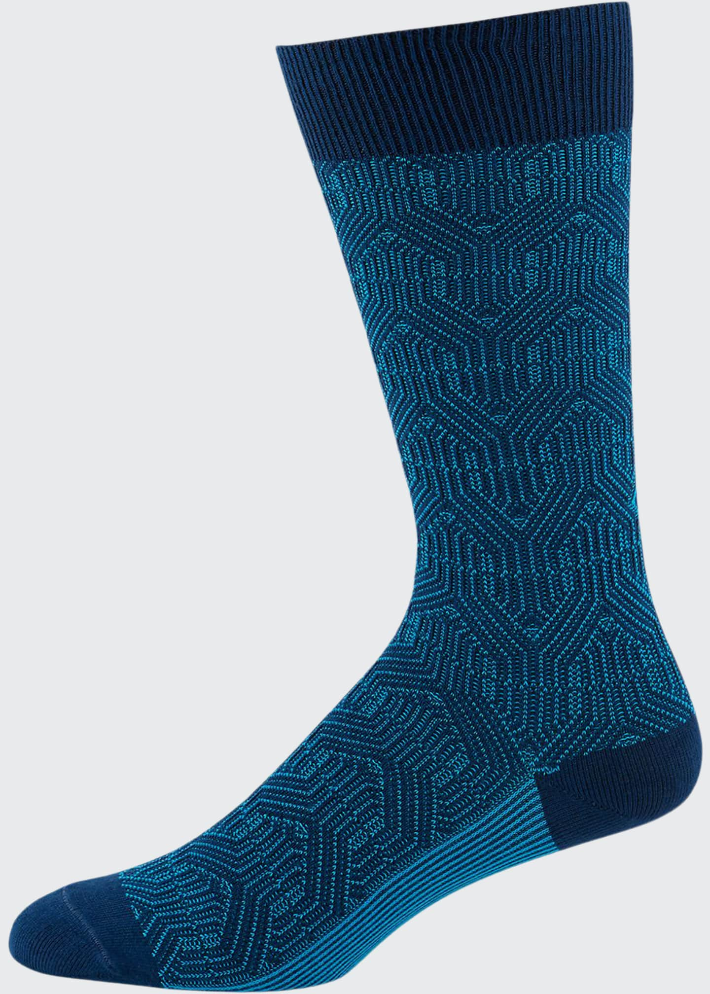 Ace & Everett Men's Russo Cotton-Blend Socks