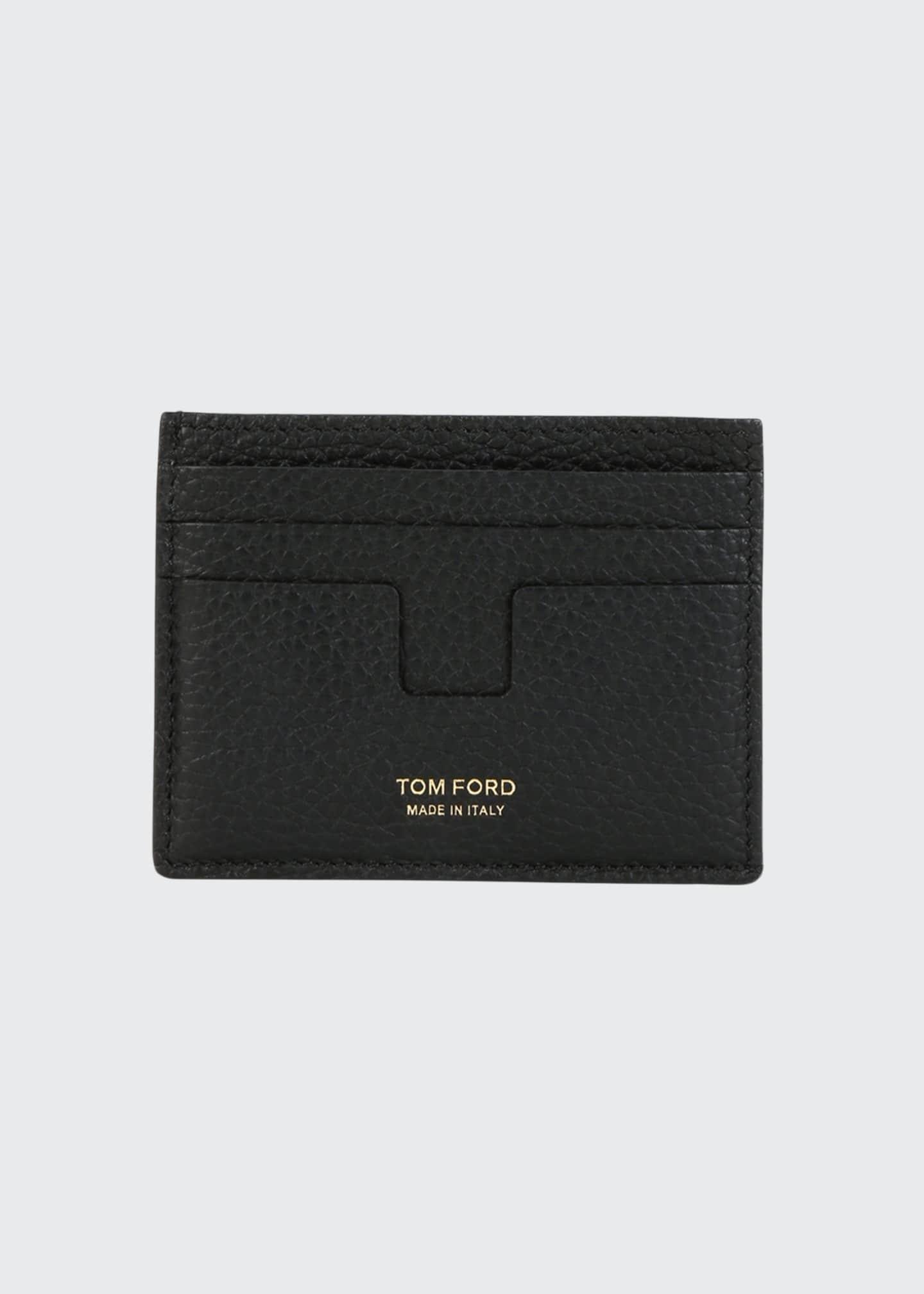 TOM FORD Men's Leather Card Holder