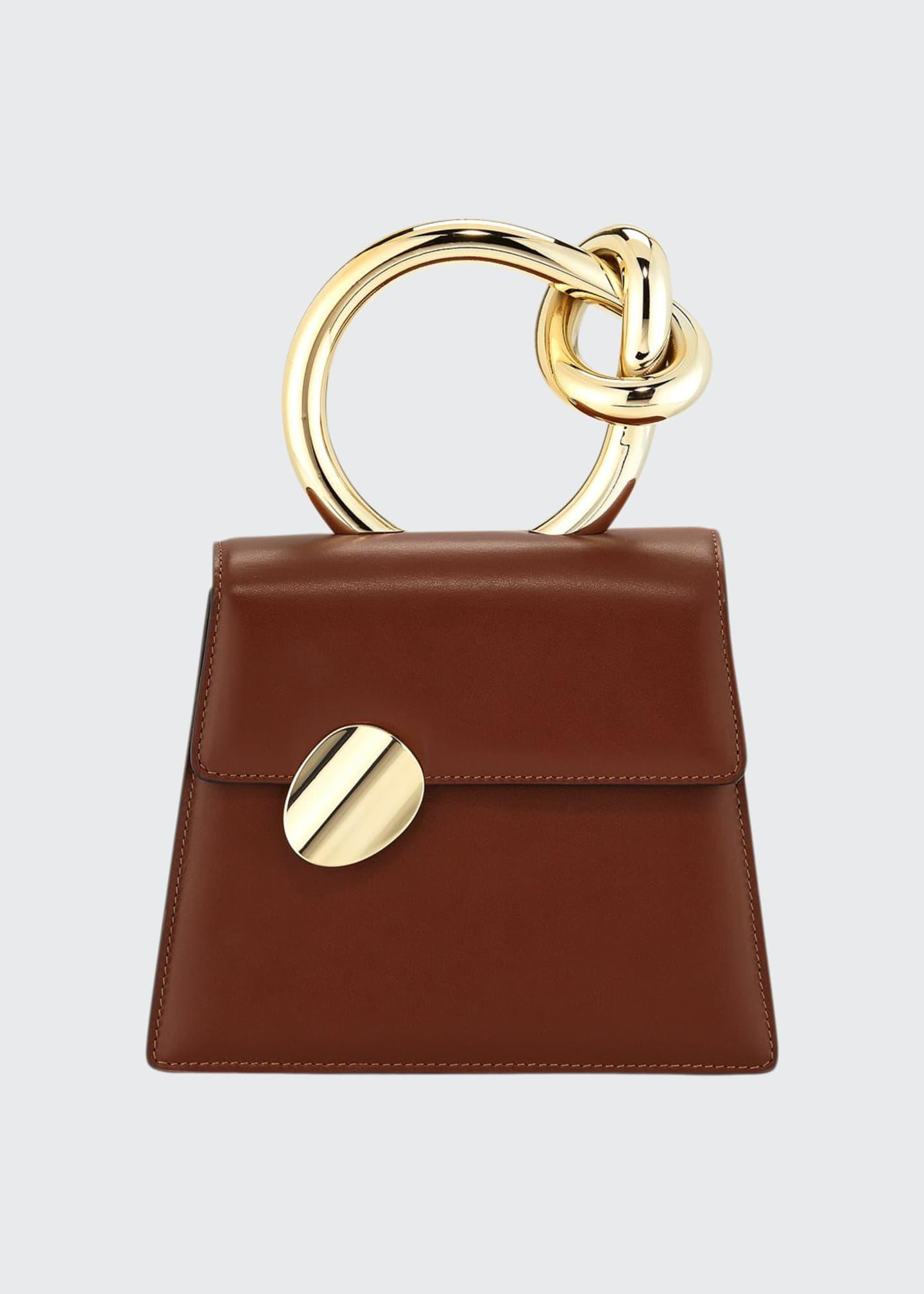 Benedetta Bruzziches Brigitta Small Flap Top Handle Bag,