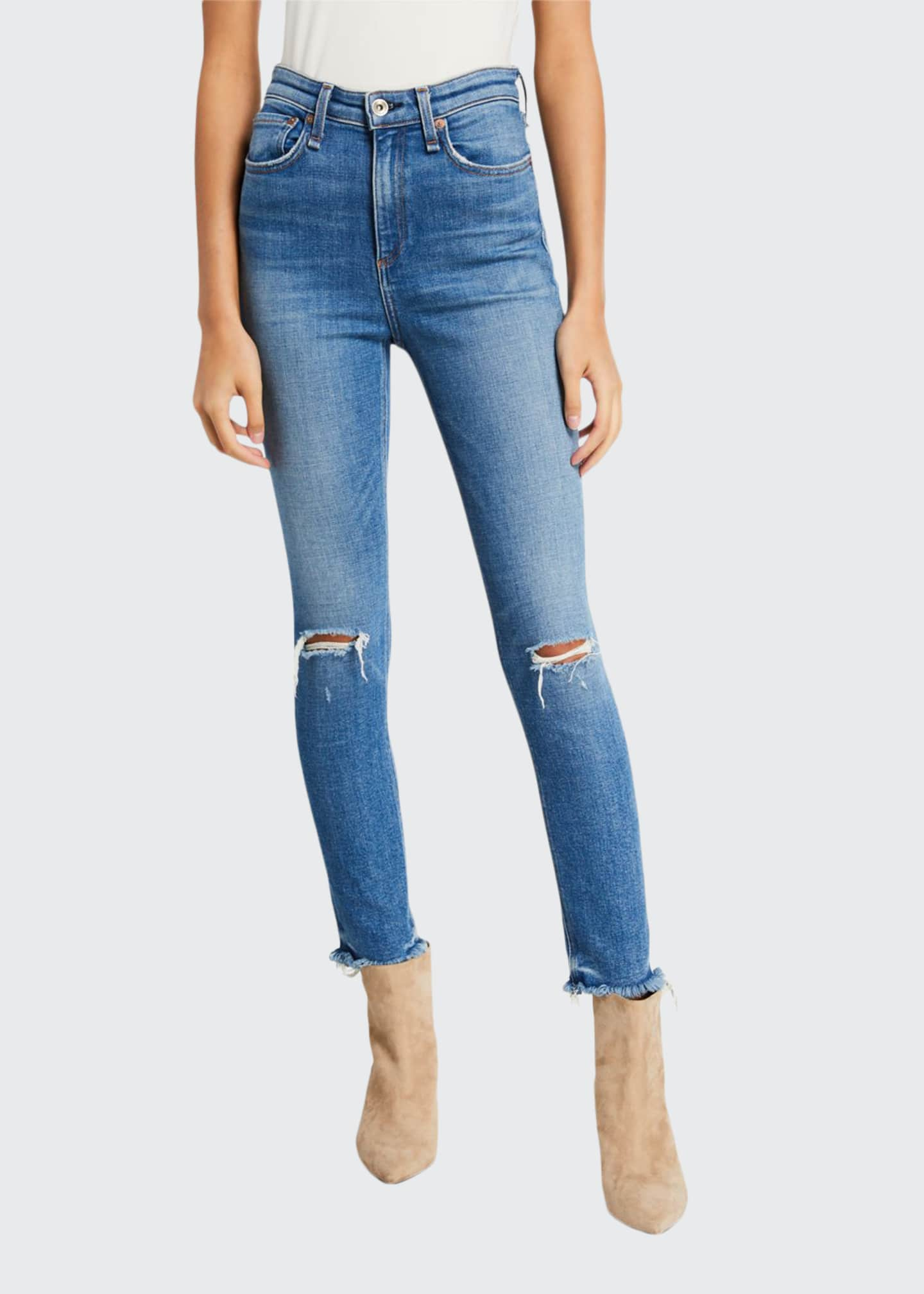 Rag & Bone Nina High-Rise Ankle Skinny with