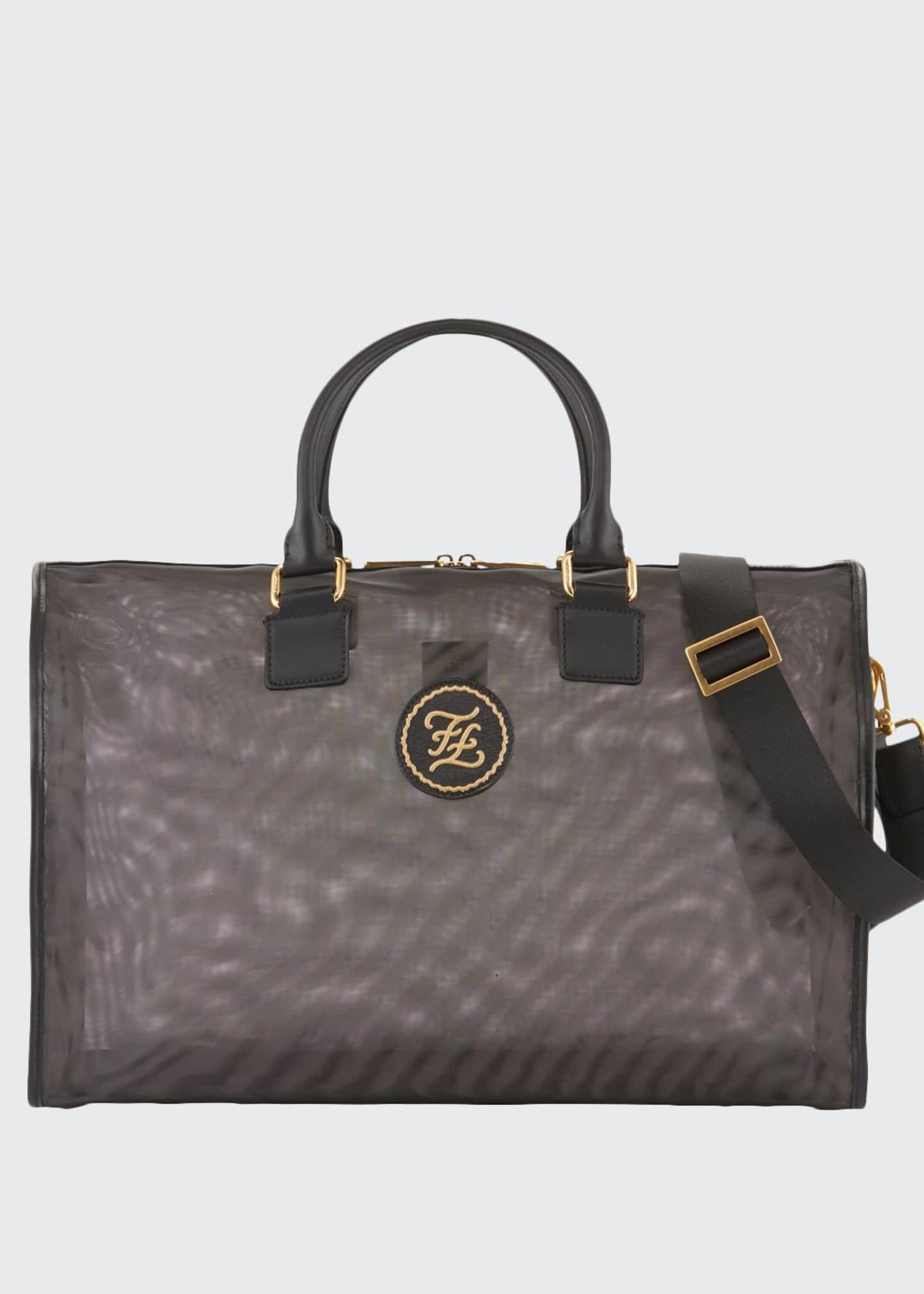 Fendi Men's FF Nylon Weekender Bag