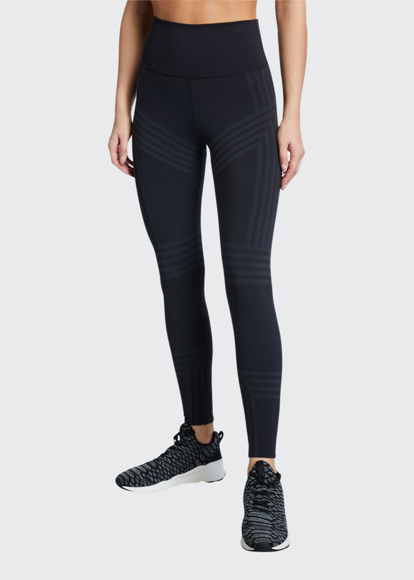 Alo Yoga 7/8 High-Waist Channel Leggings
