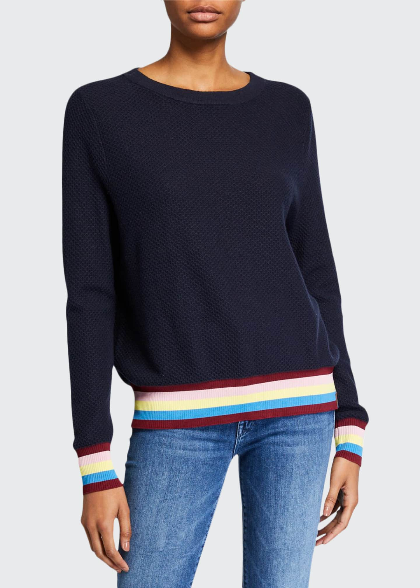 Kule The Fiona Textured Sweater