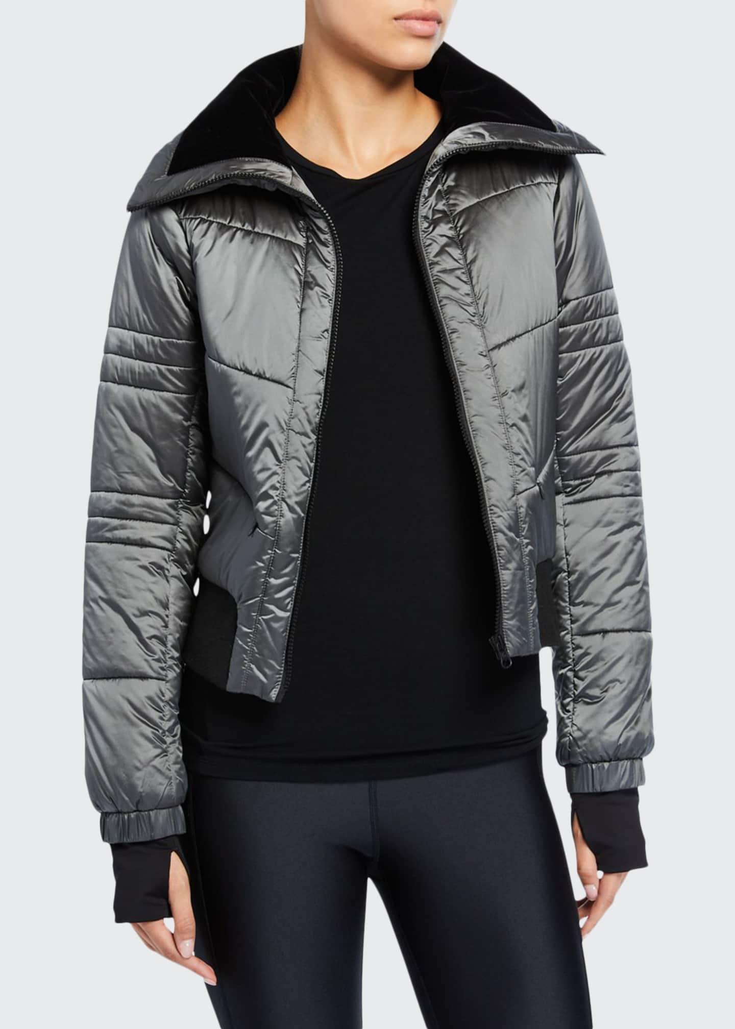 Blanc Noir Bella Cropped Puffer Jacket