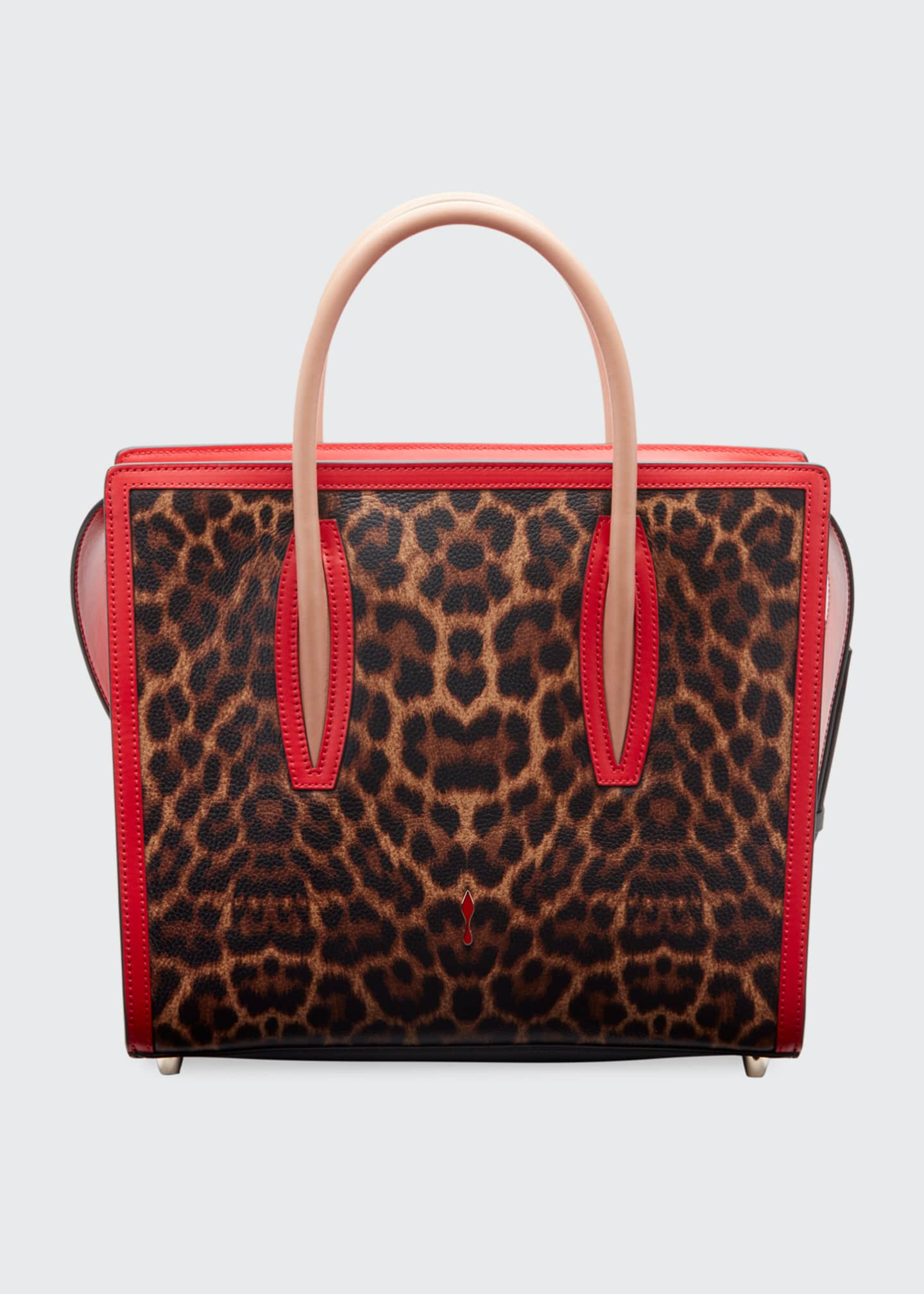 Christian Louboutin Paloma Medium Empire Leopard Tote Bag