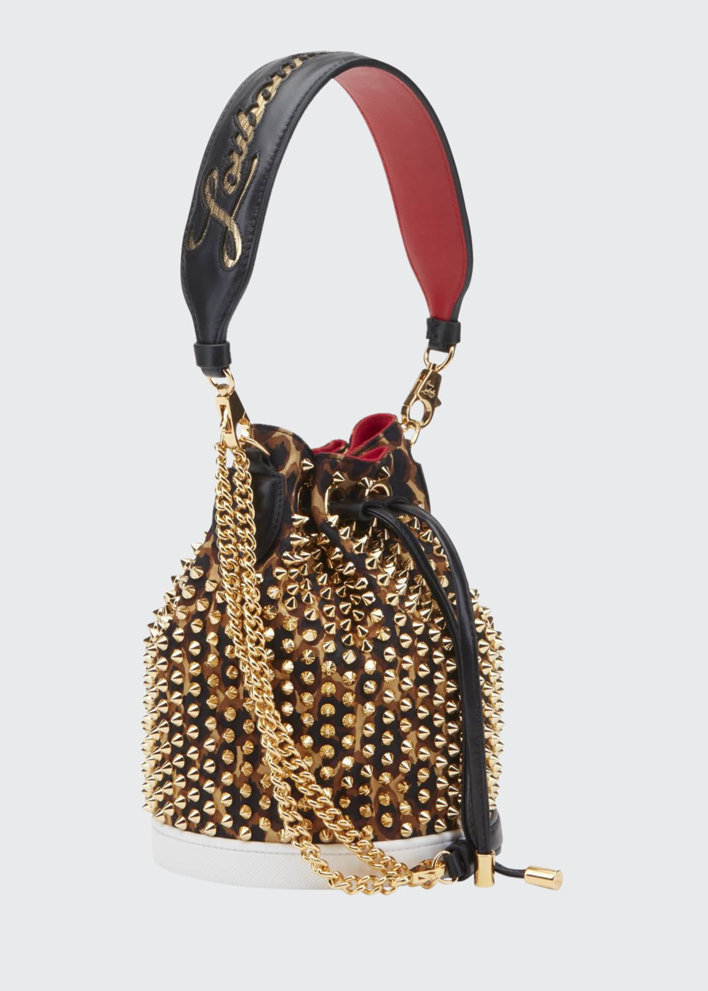Christian Louboutin Marie Jane Loubirun Bucket Bag