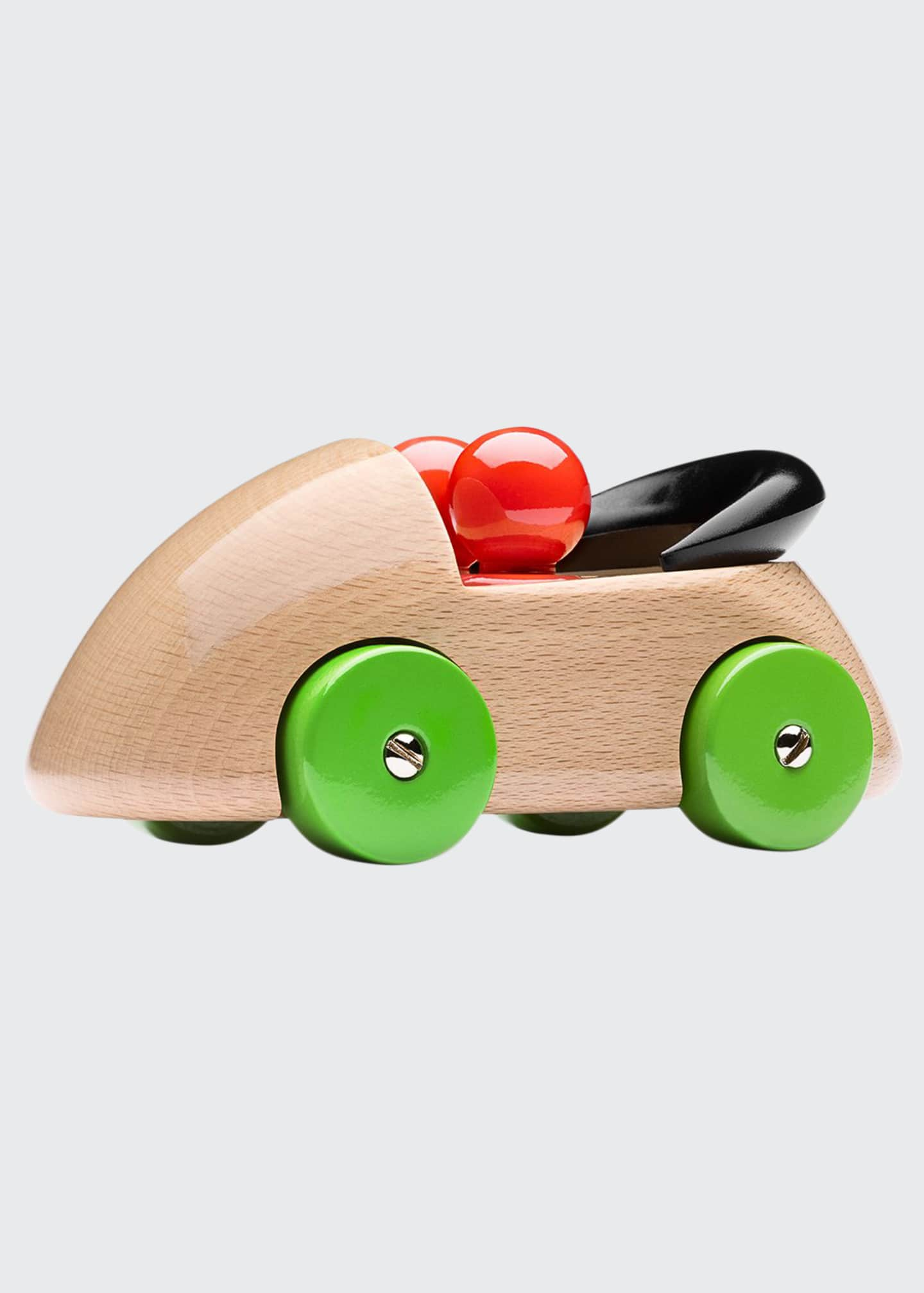 Image 1 of 1: Cab Streamliner Wooden Toy Car