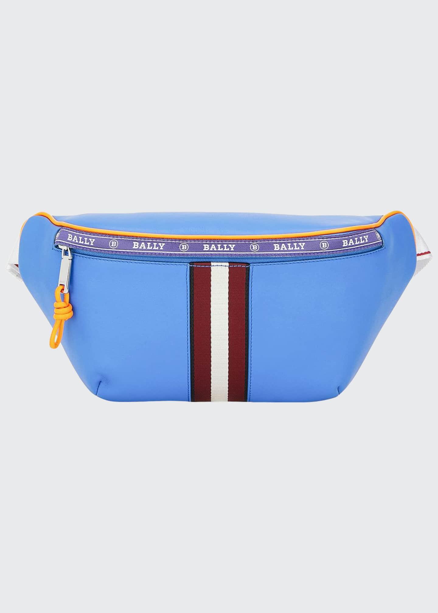 Bally Men's Trainspotting Leather Belt Bag/Fanny Pack