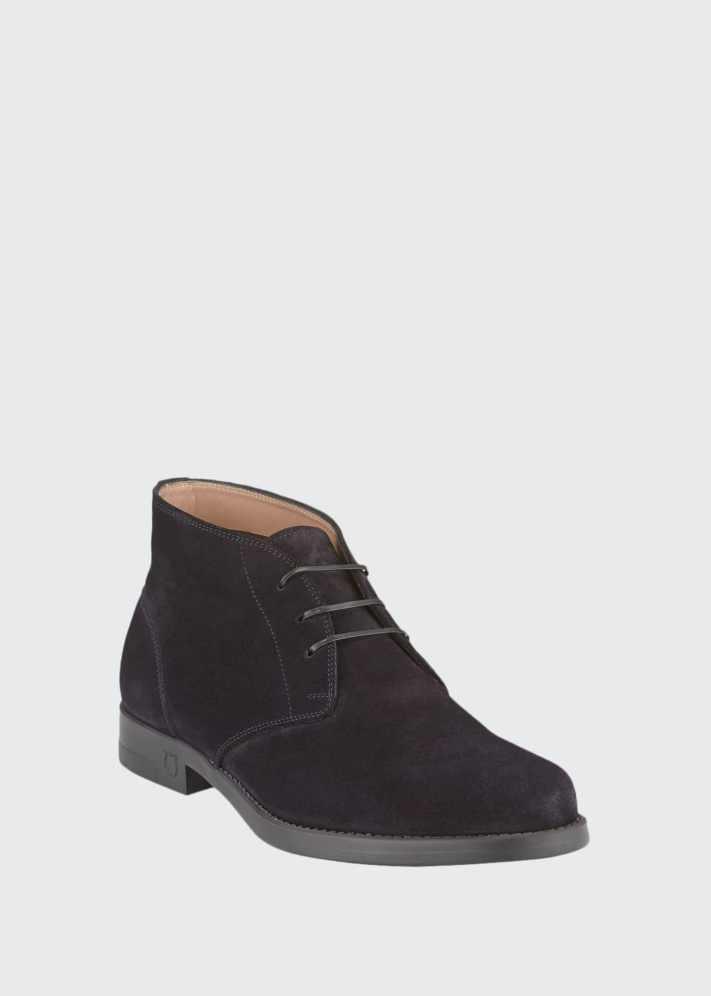 Image 1 of 3: Men's Sachie-2 Lightweight Suede Chukka Boots
