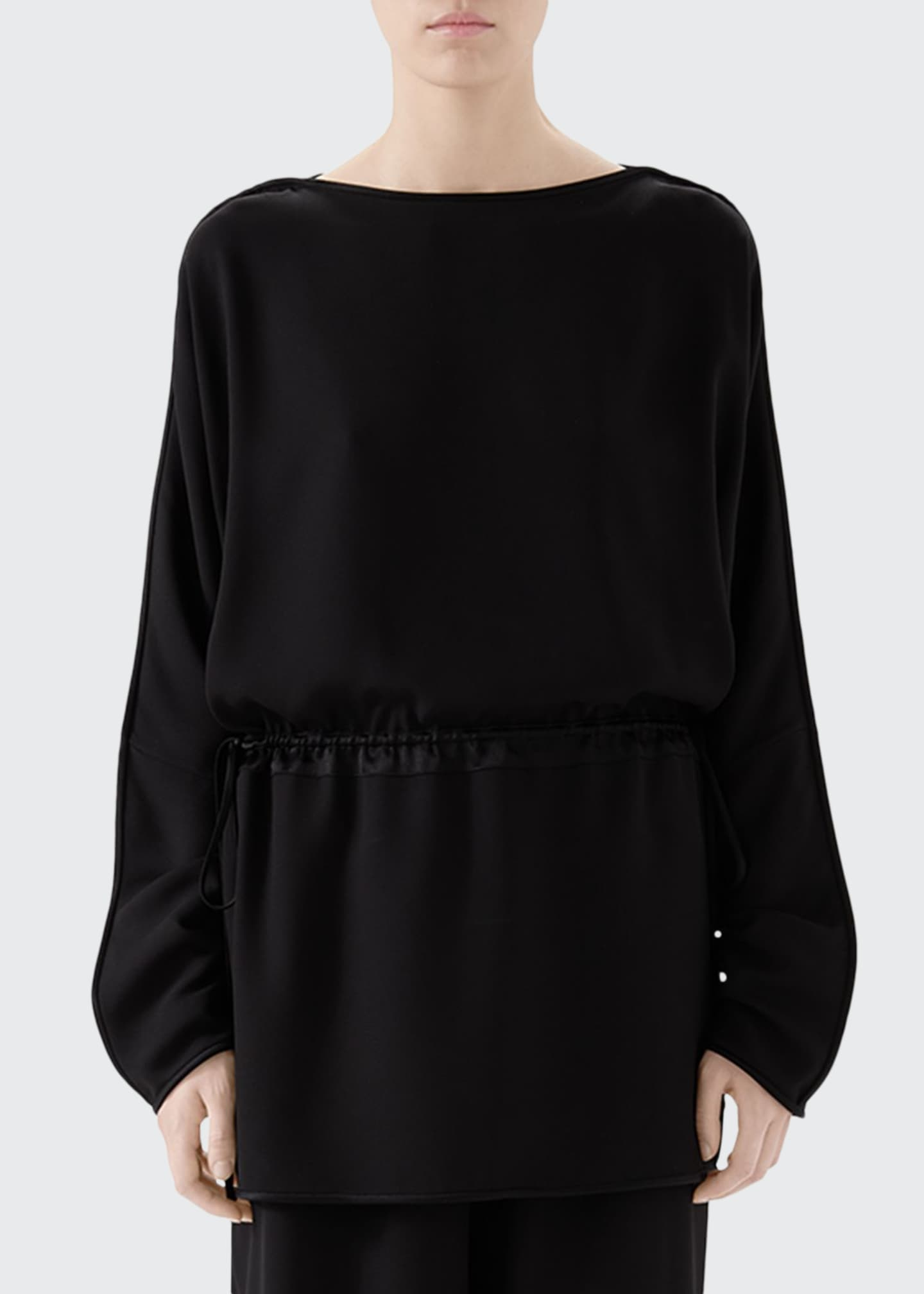 Image 1 of 4: Satin Tunic Top