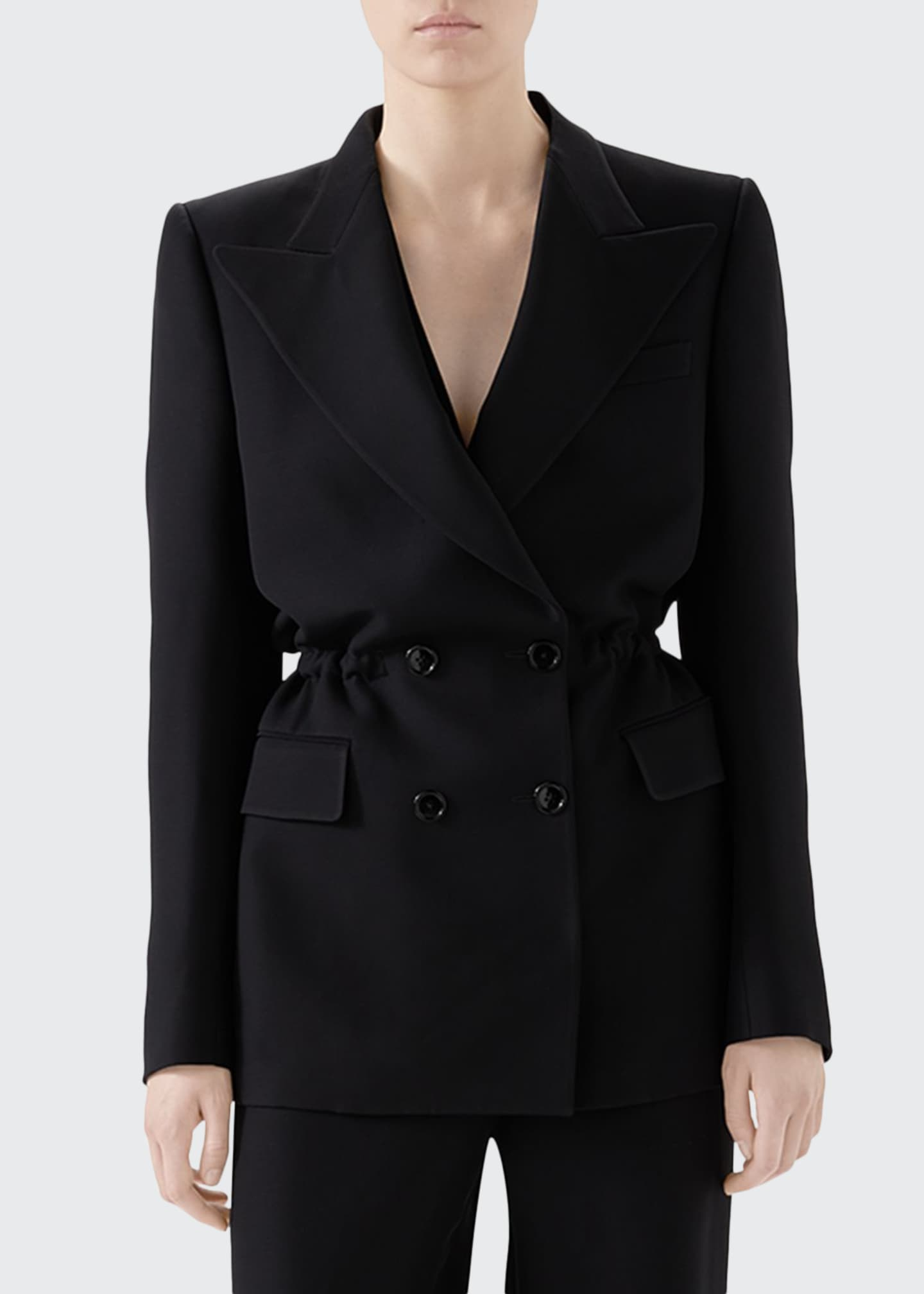 Gucci Cady Crepe Jacket