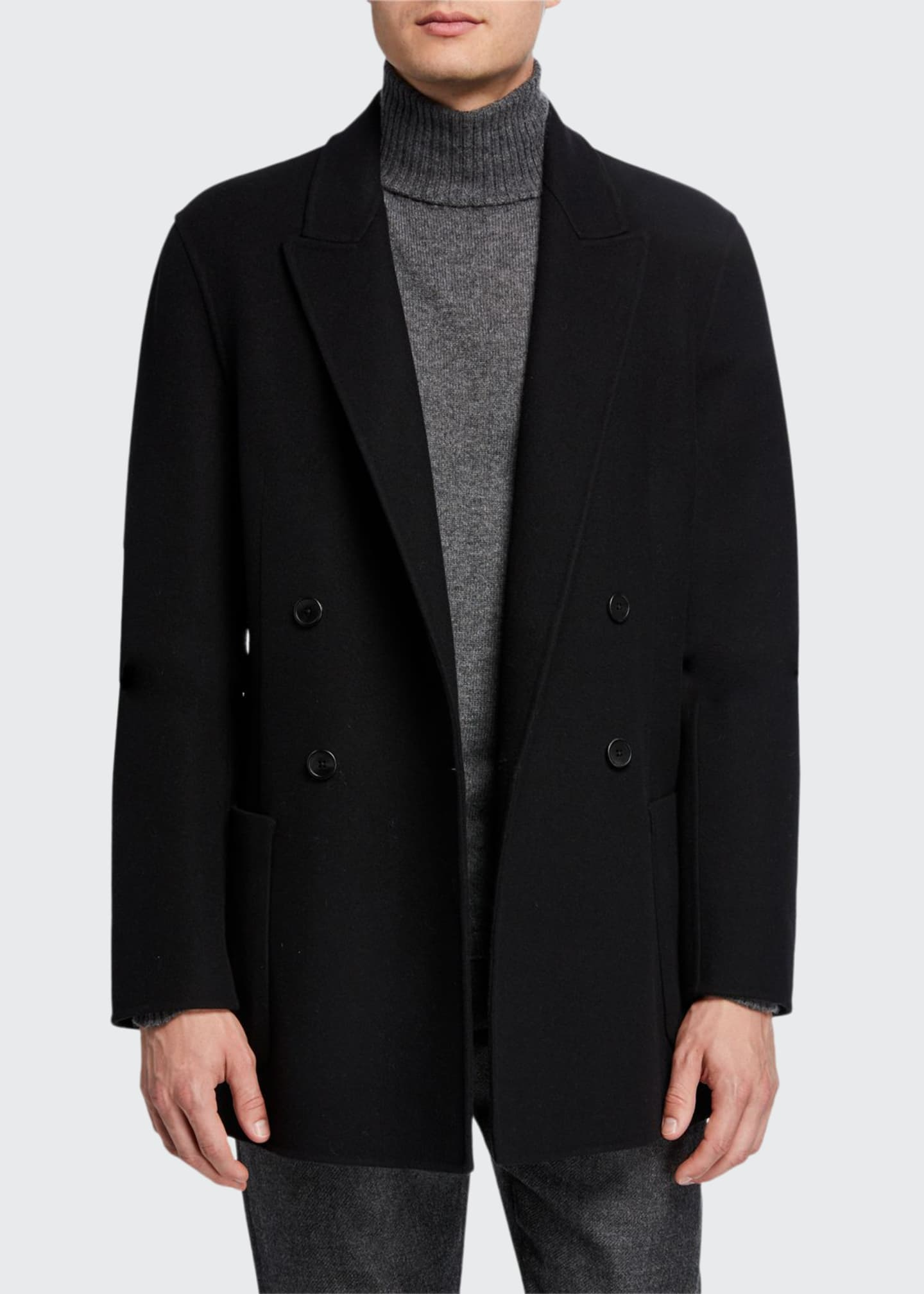THE ROW Men's Nick Double-Breasted Jacket