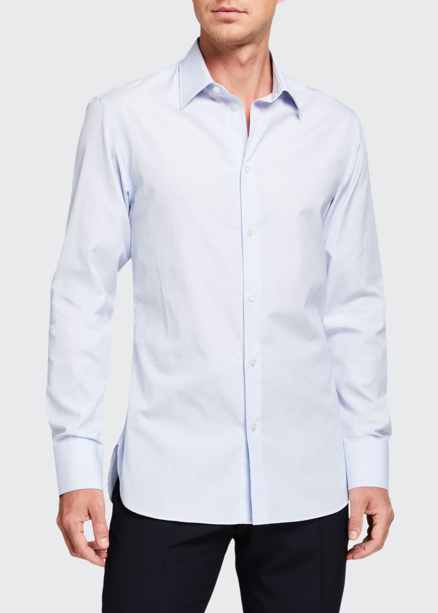 THE ROW Men's Jasper Cotton Sport Shirt