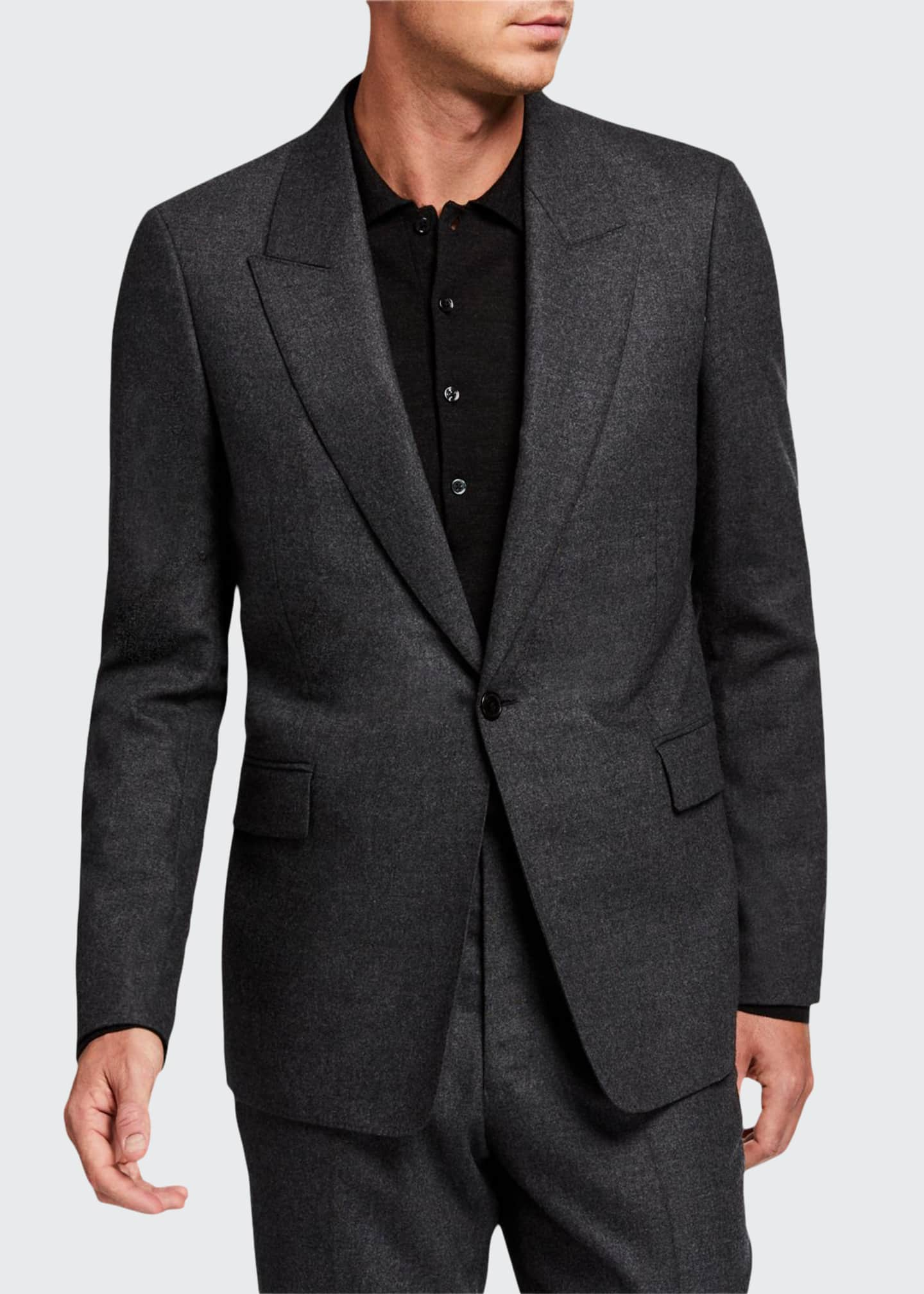 THE ROW Men's Mason Single-Button Jacket