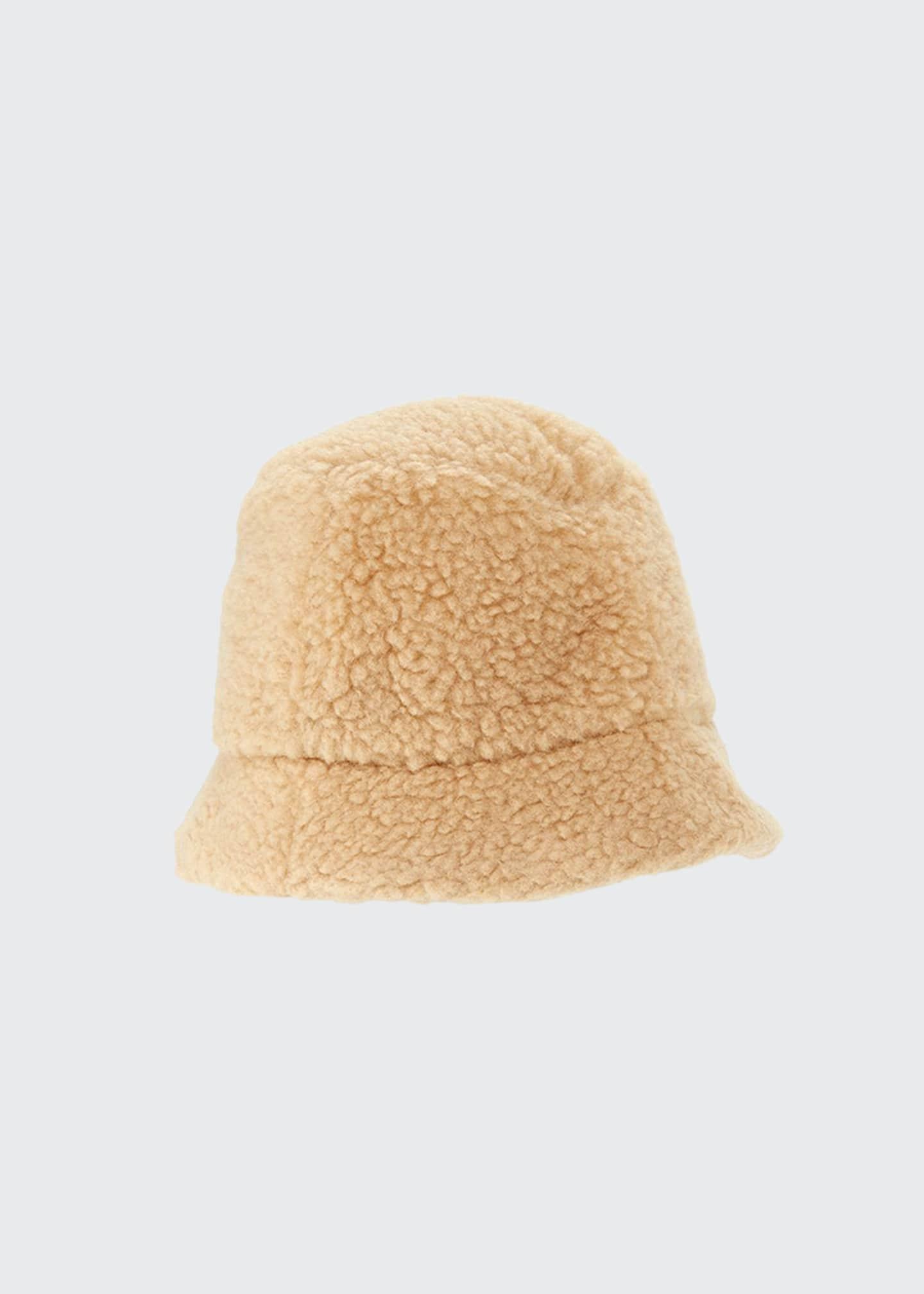 Cableami Men's Boa Sherpa Bucket Hat