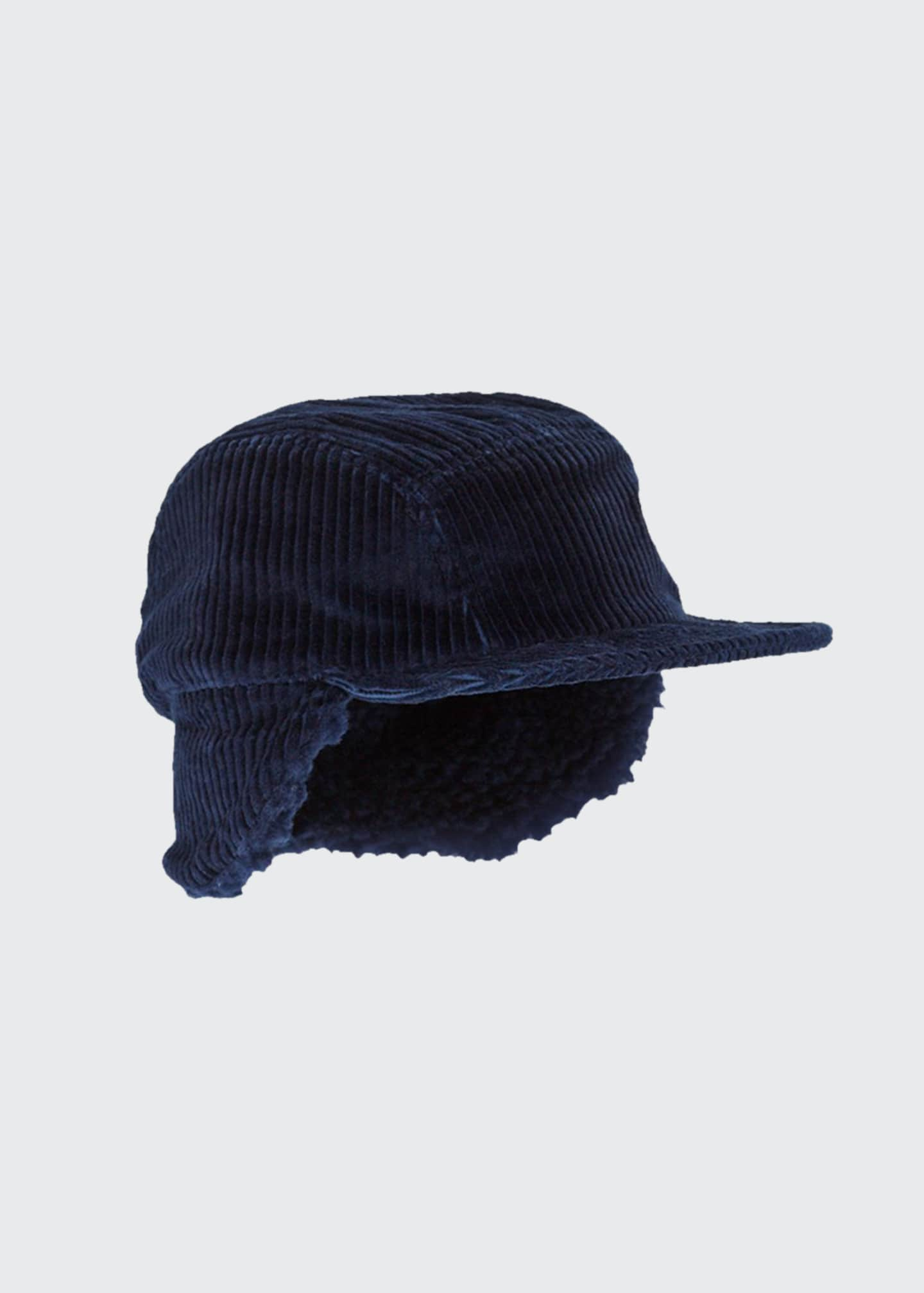 Cableami Men's Quilted Corduroy Cap