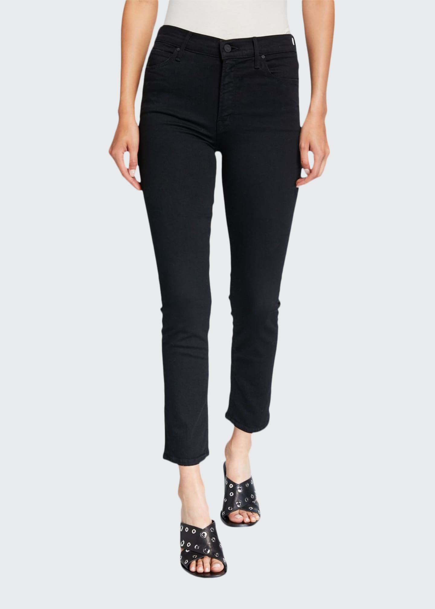 Image 1 of 3: The Mid-Rise Dazzler Ankle Jeans
