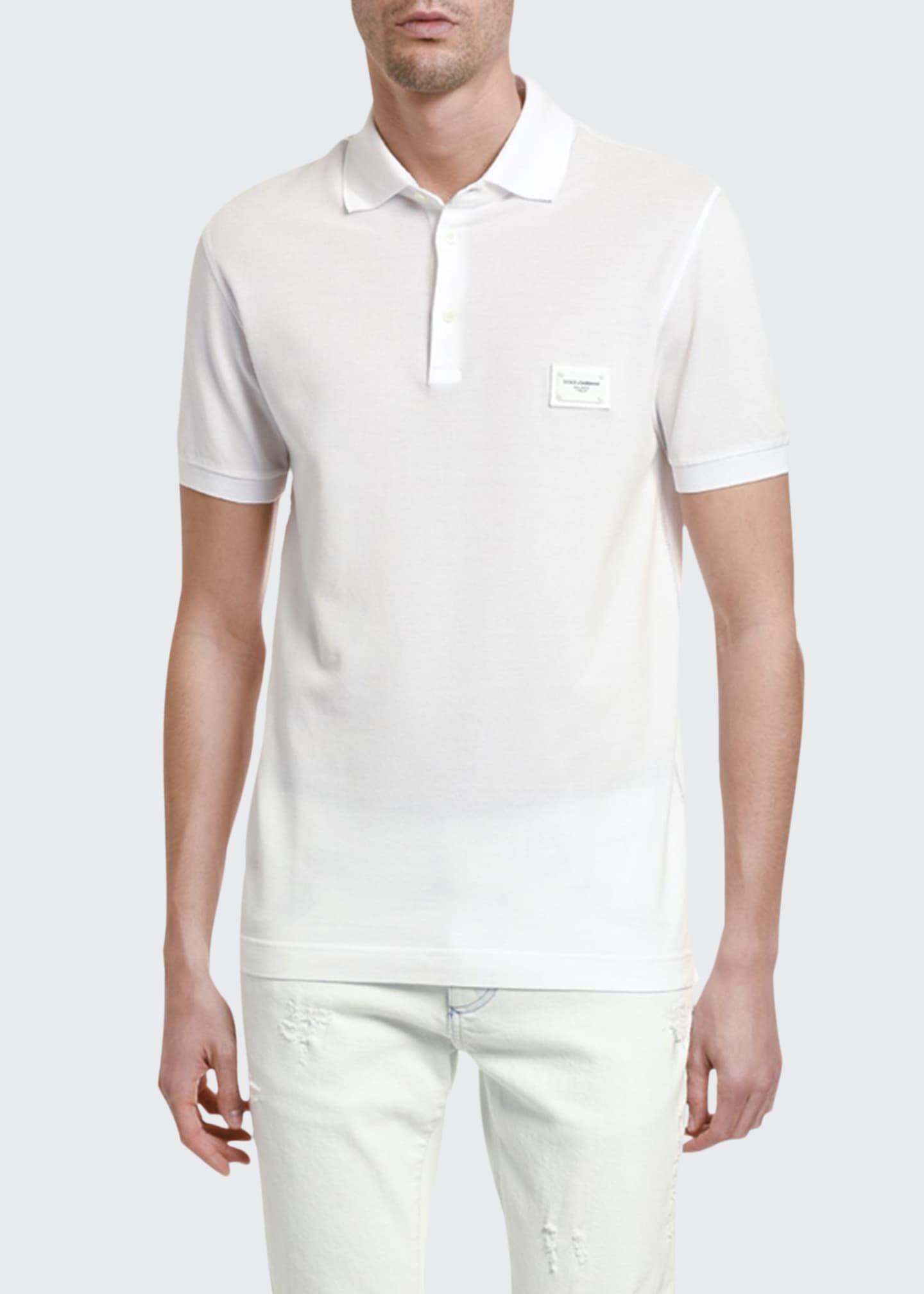 Dolce & Gabbana Men's Consign Basic Polo Shirt