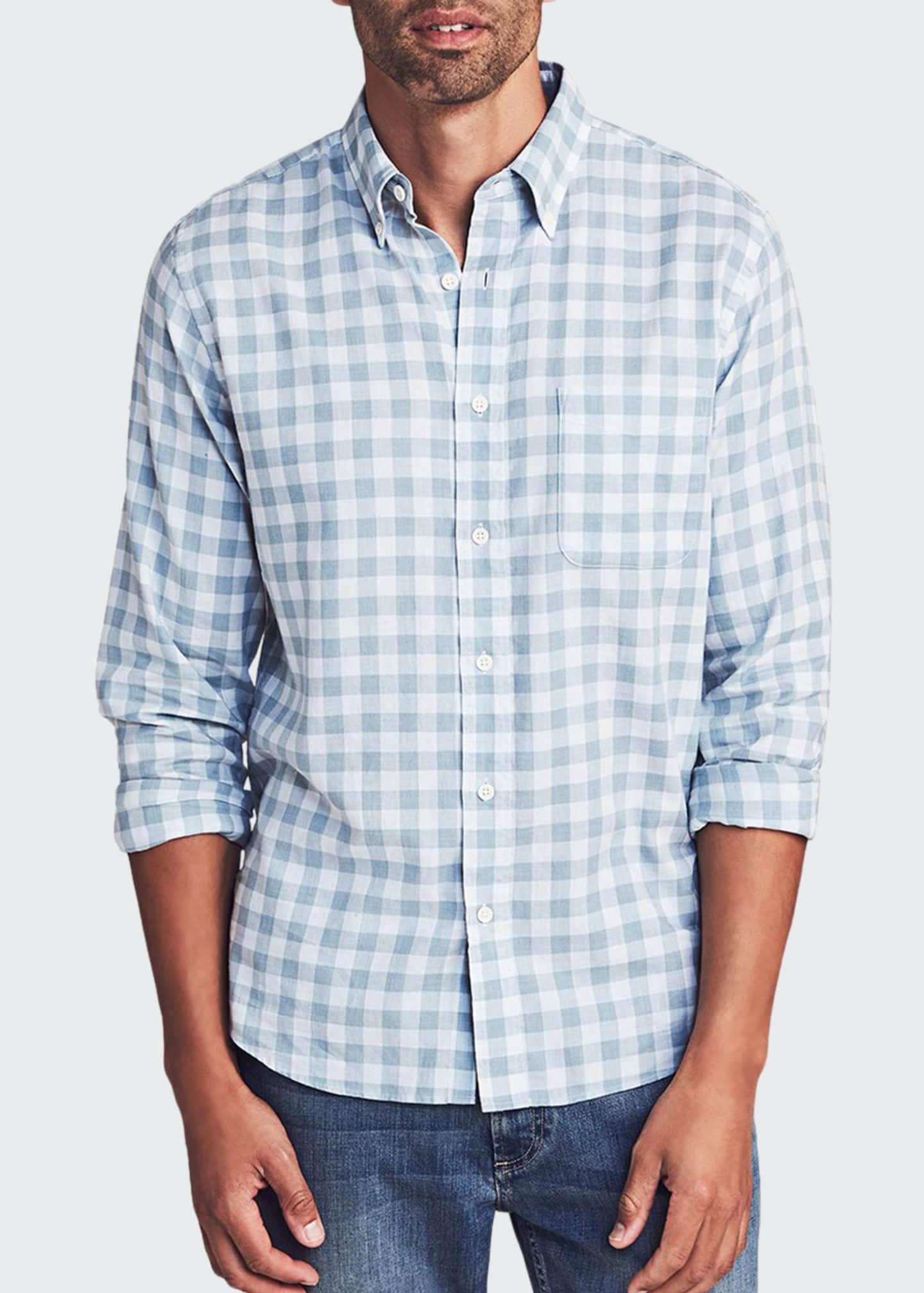 Faherty Men's Everyday Check Sport Shirt
