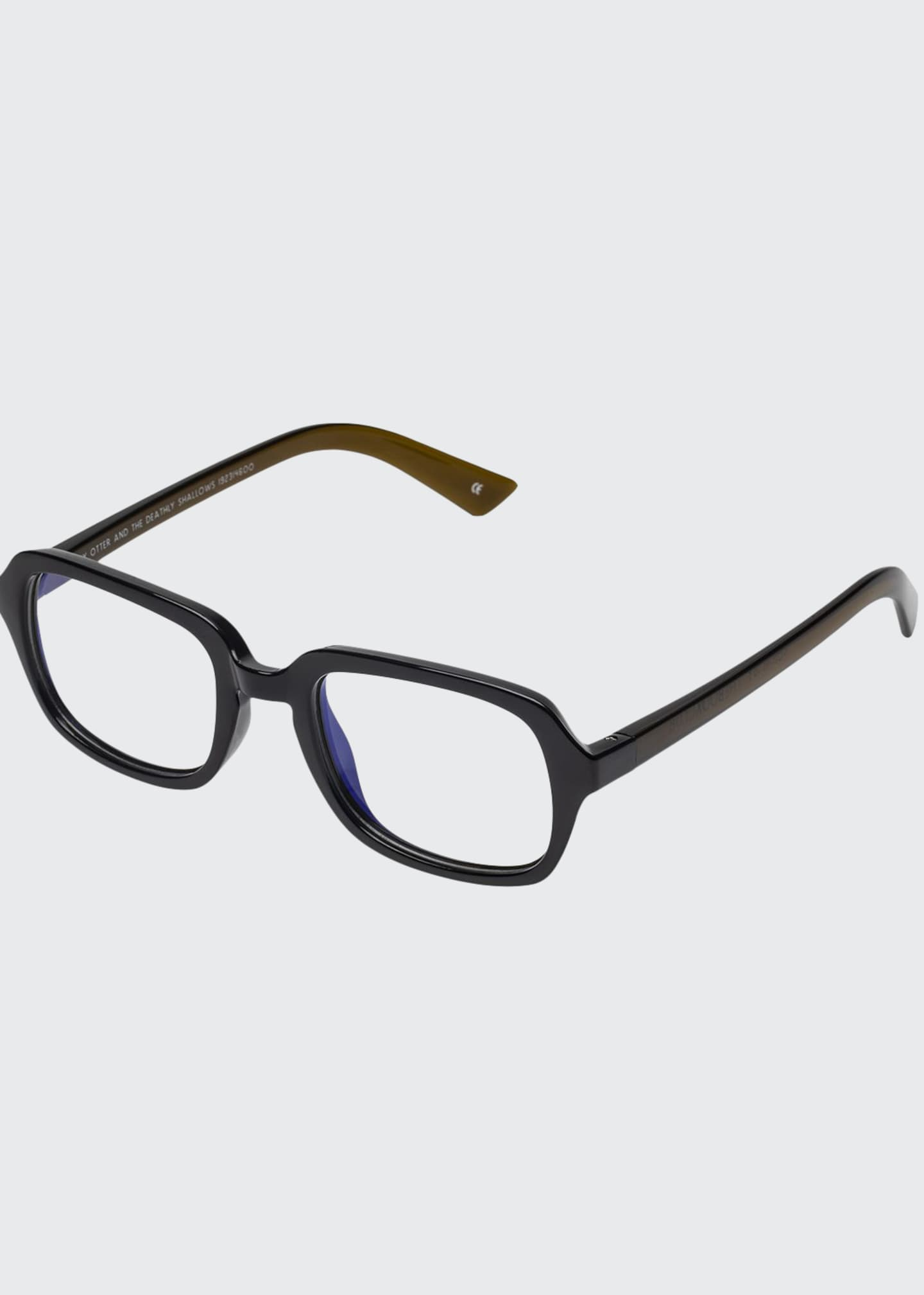 The Book Club Hairy Otter Rectangle Reading Glasses
