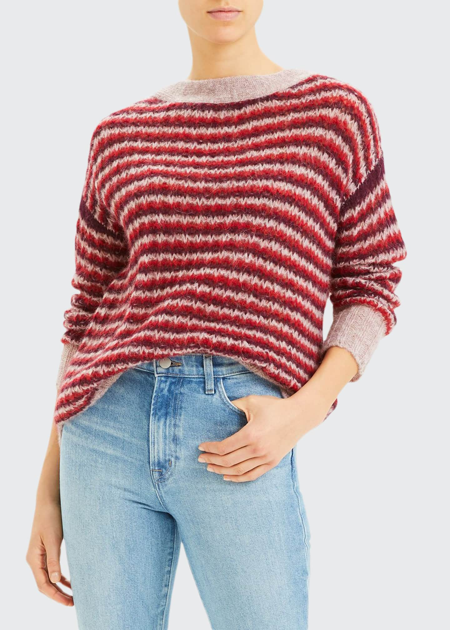 Theory Alpaca Stripe Sweater
