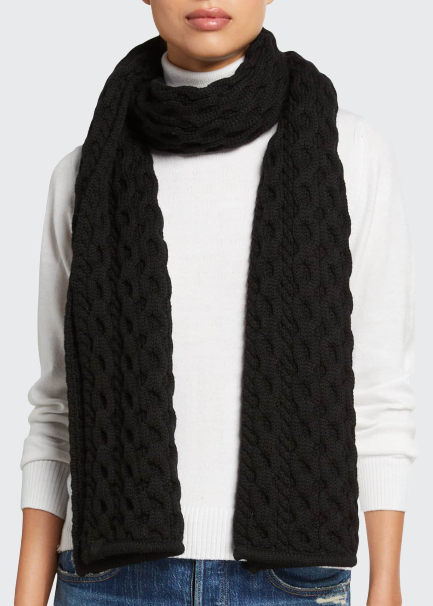 Rag & Bone Aran Chunky Rectangle Scarf
