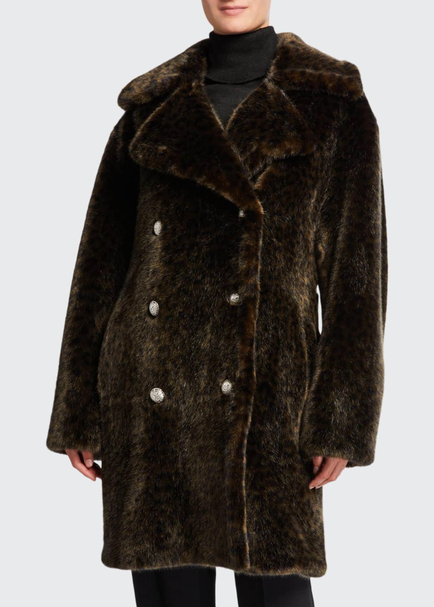 Faz Not Fur Leopard Faux Fur Cold Solider