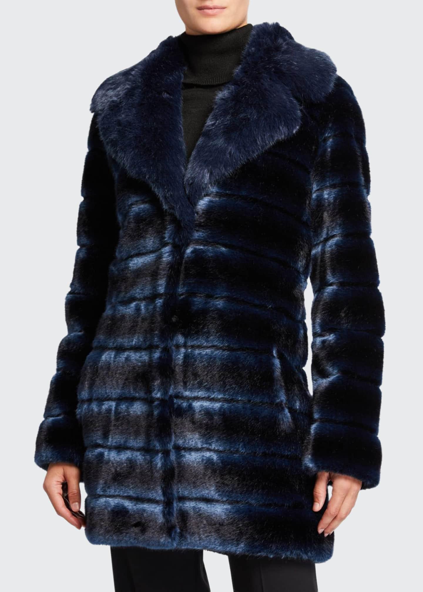 Faz Not Fur Swagger Faux-Fur Coat