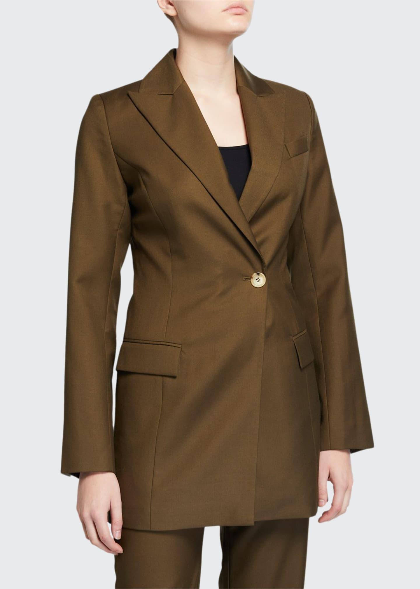 Anna Quan Sienna Single-Button Jacket