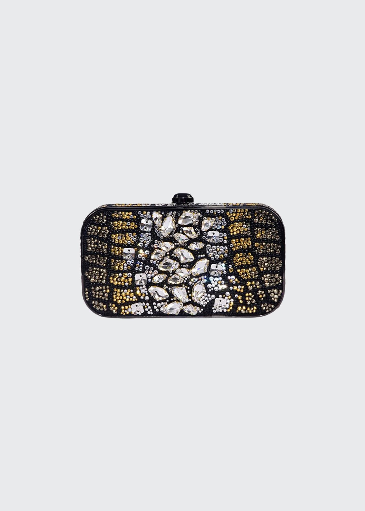 PELLEGRINO Stone Beaded Clutch Bag