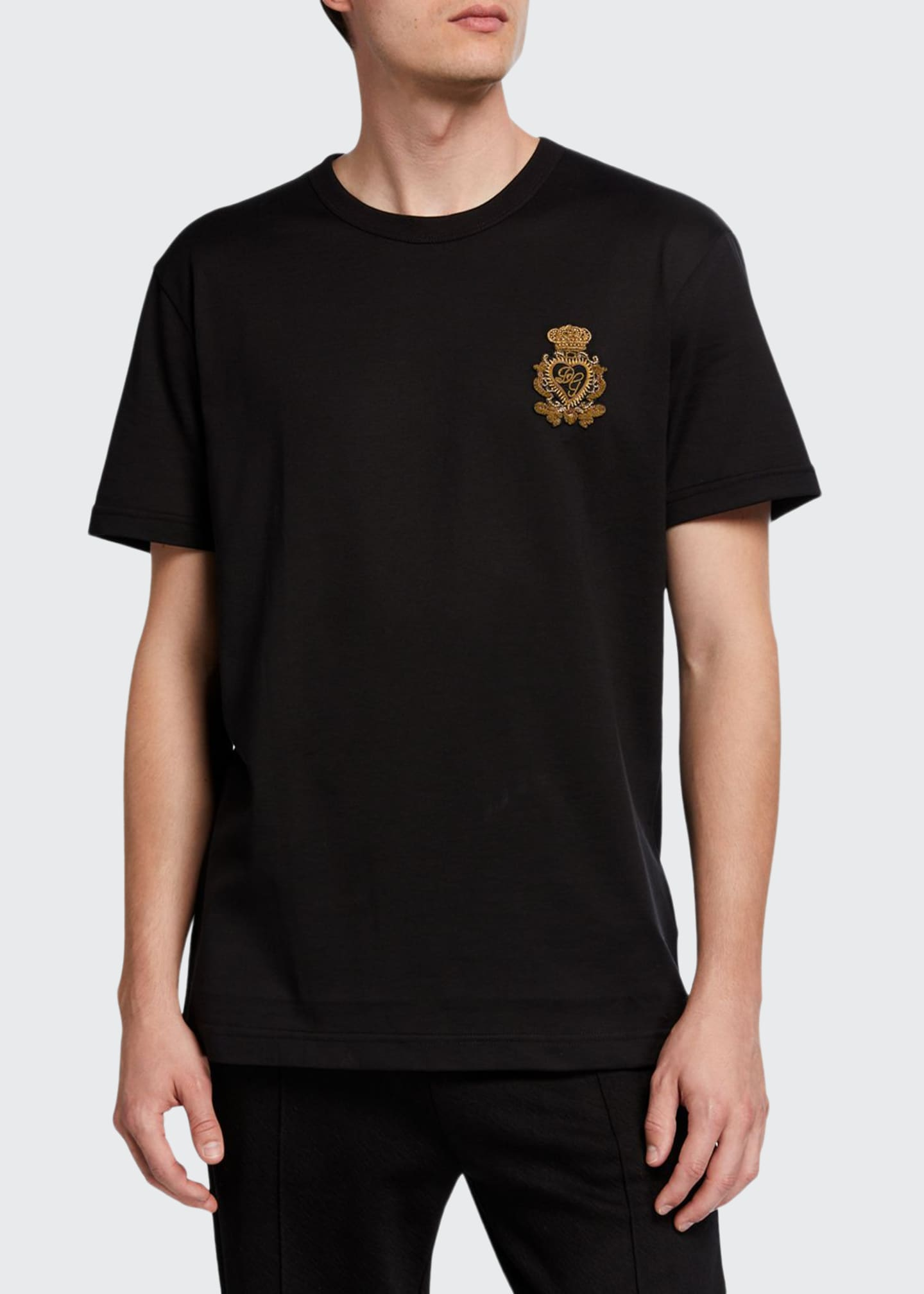 Image 1 of 2: Men's Crest Graphic T-Shirt