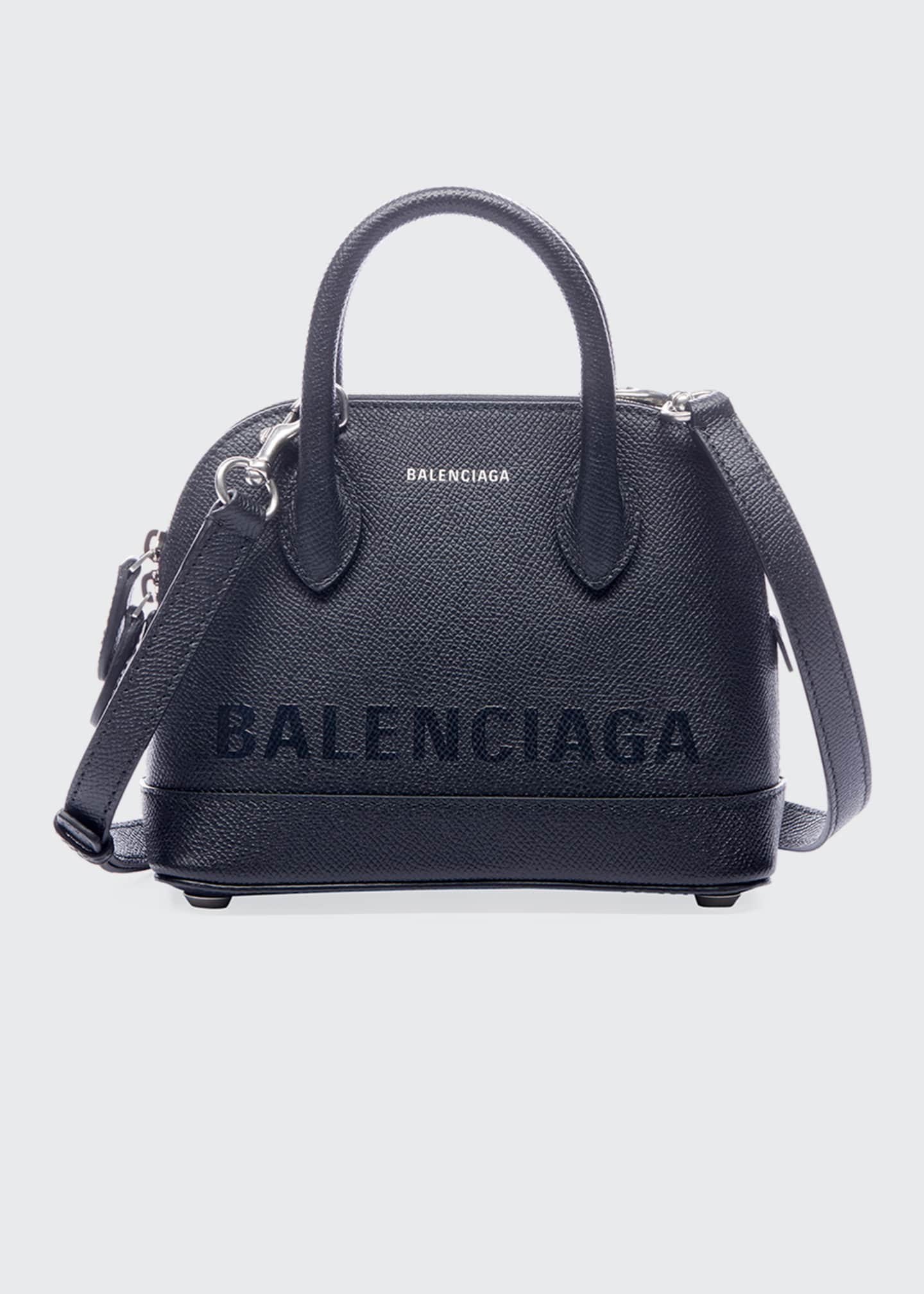 Balenciaga Ville AJ XXS Logo Printed Top-Handle Bag