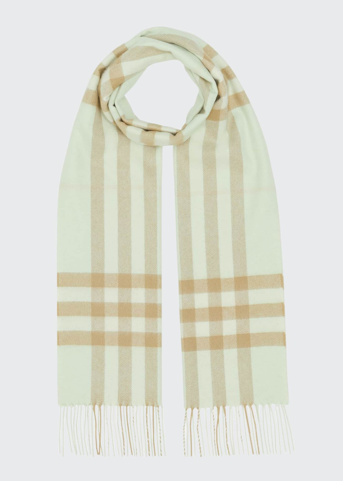 Image 1 of 4: Giant Check Cashmere Scarf
