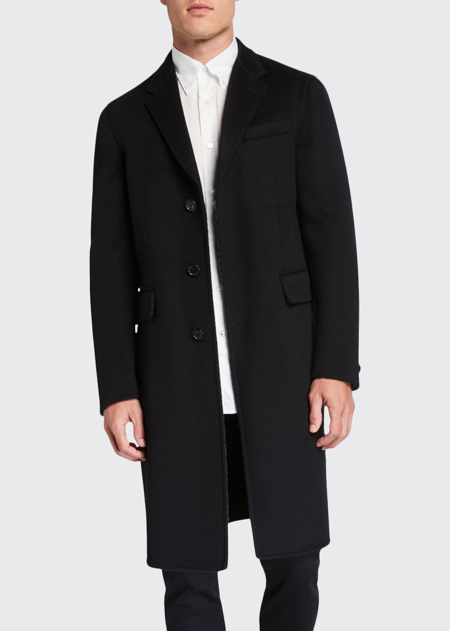 Burberry Men's Hawkhurst Wool-Blend Coat