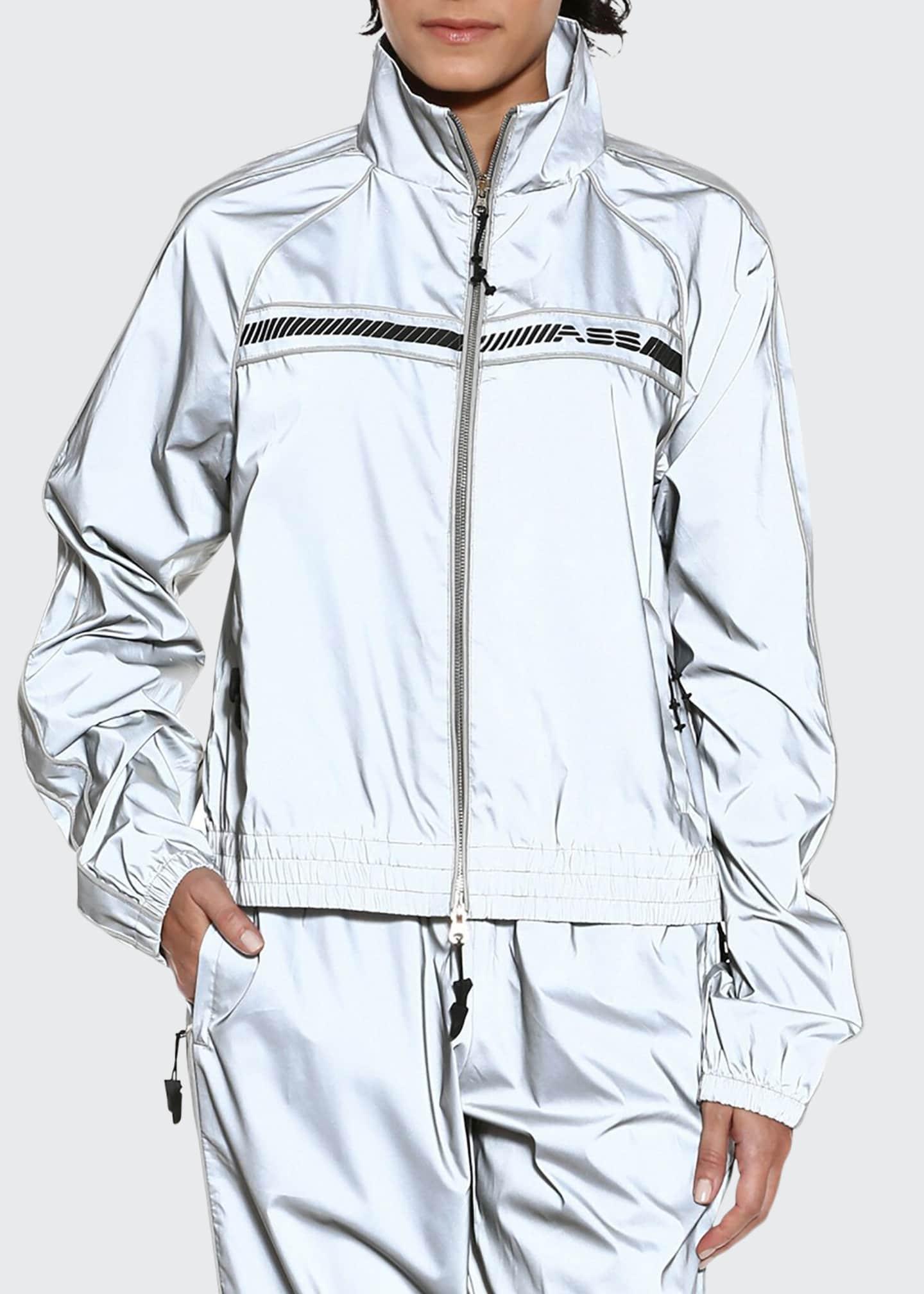 Adam Selman Sport Unisex Track Jacket